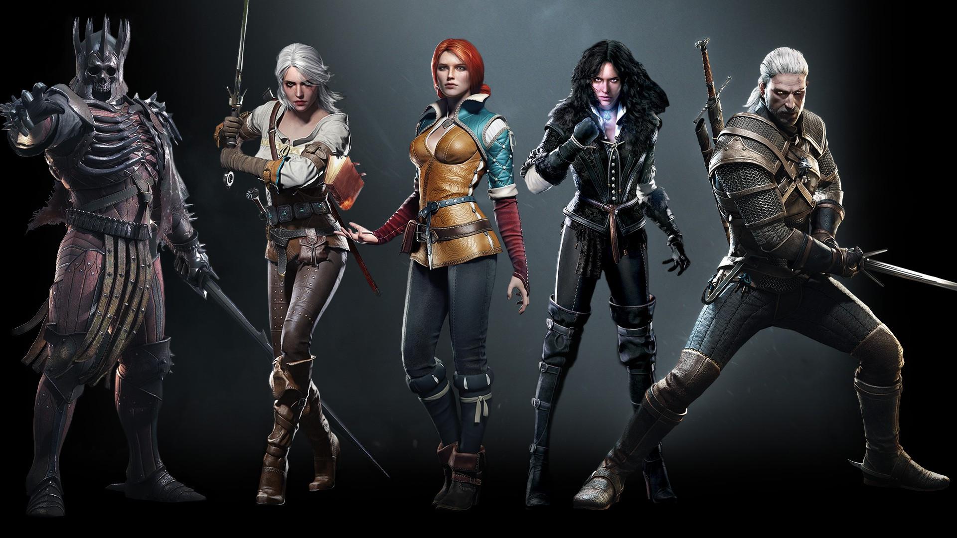 General The Witcher 3: Wild Hunt Eredin Ciri Geralt of Rivia  Yennefer of Vengerberg
