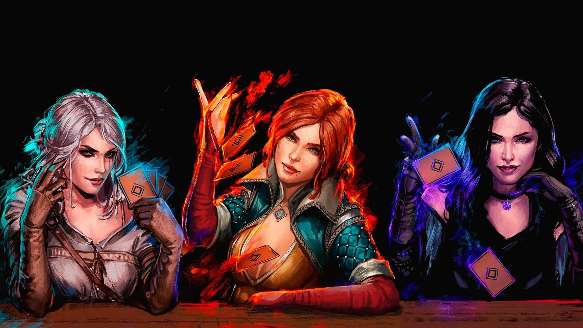 Video Game – Gwent: The Witcher Card Game Orange Hair Black Hair Ciri (The