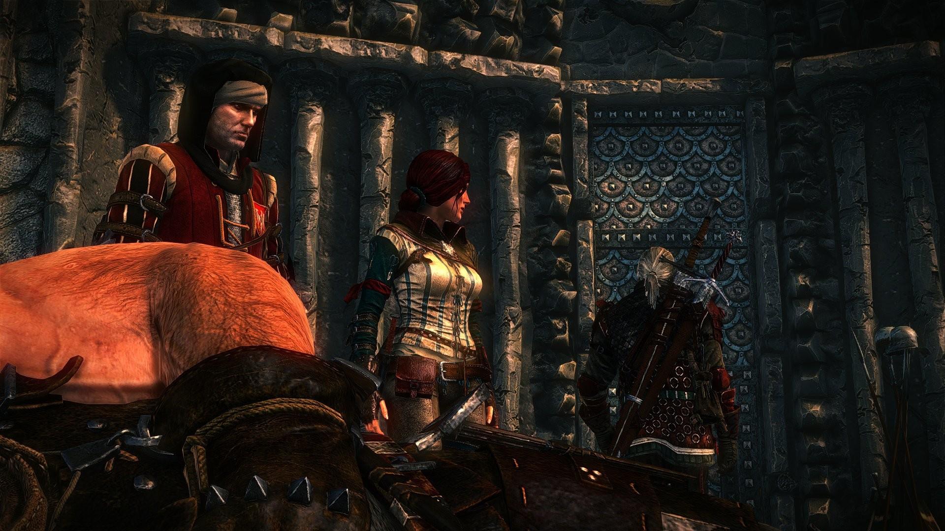 The Witcher 2 Assassins of Kings Geralt Triss Merigold Vernon Roche Letho  Dead Death wallpaper     785202   WallpaperUP