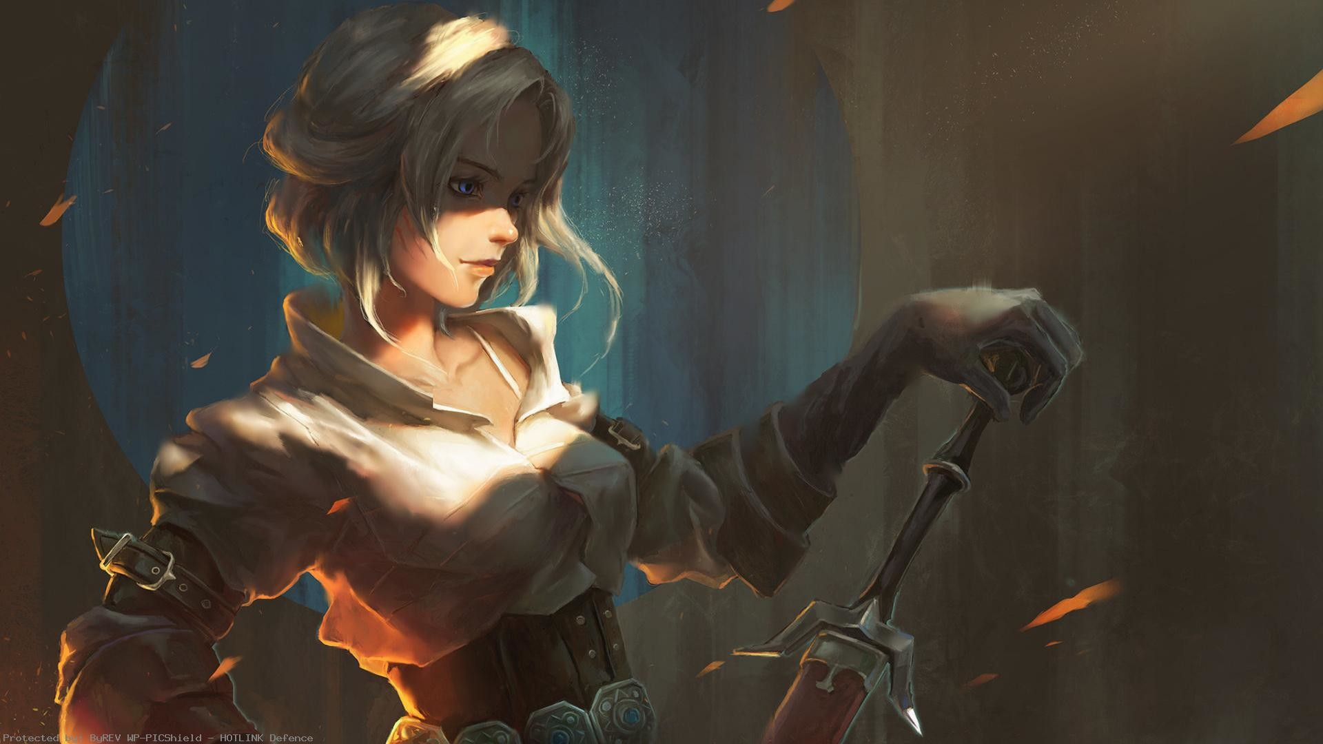 the-witcher-ciri-painted-sword-1920×1080-wallpaper-wp60013645