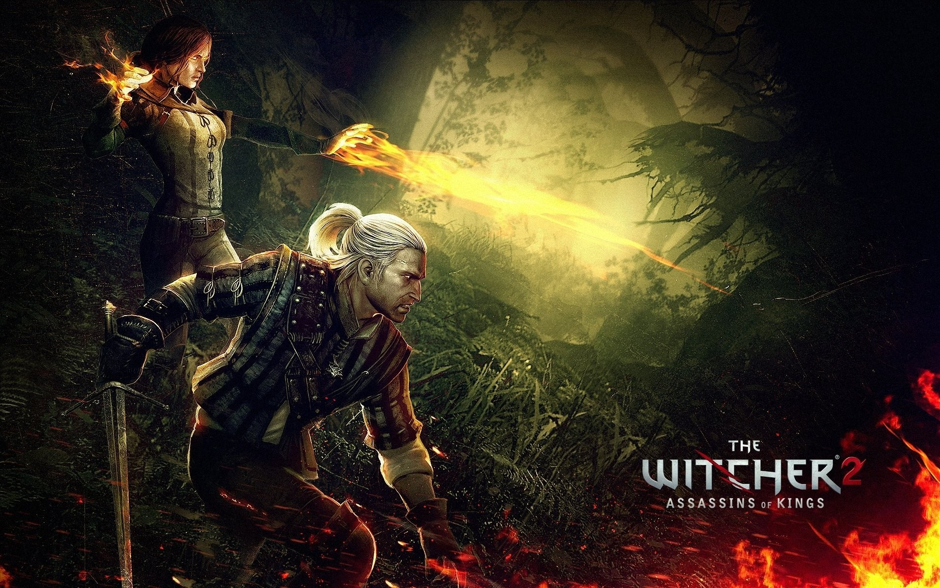 the witcher 2 assassins of kings triss merigold geralt the witcher 2 :  assassins of kings