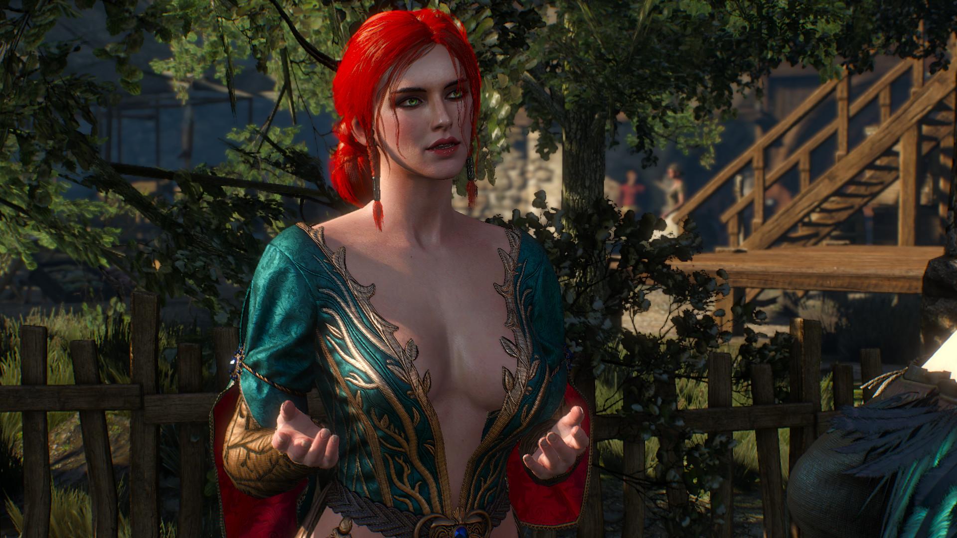 The Witcher Wild Hunt – Triss Merigold.
