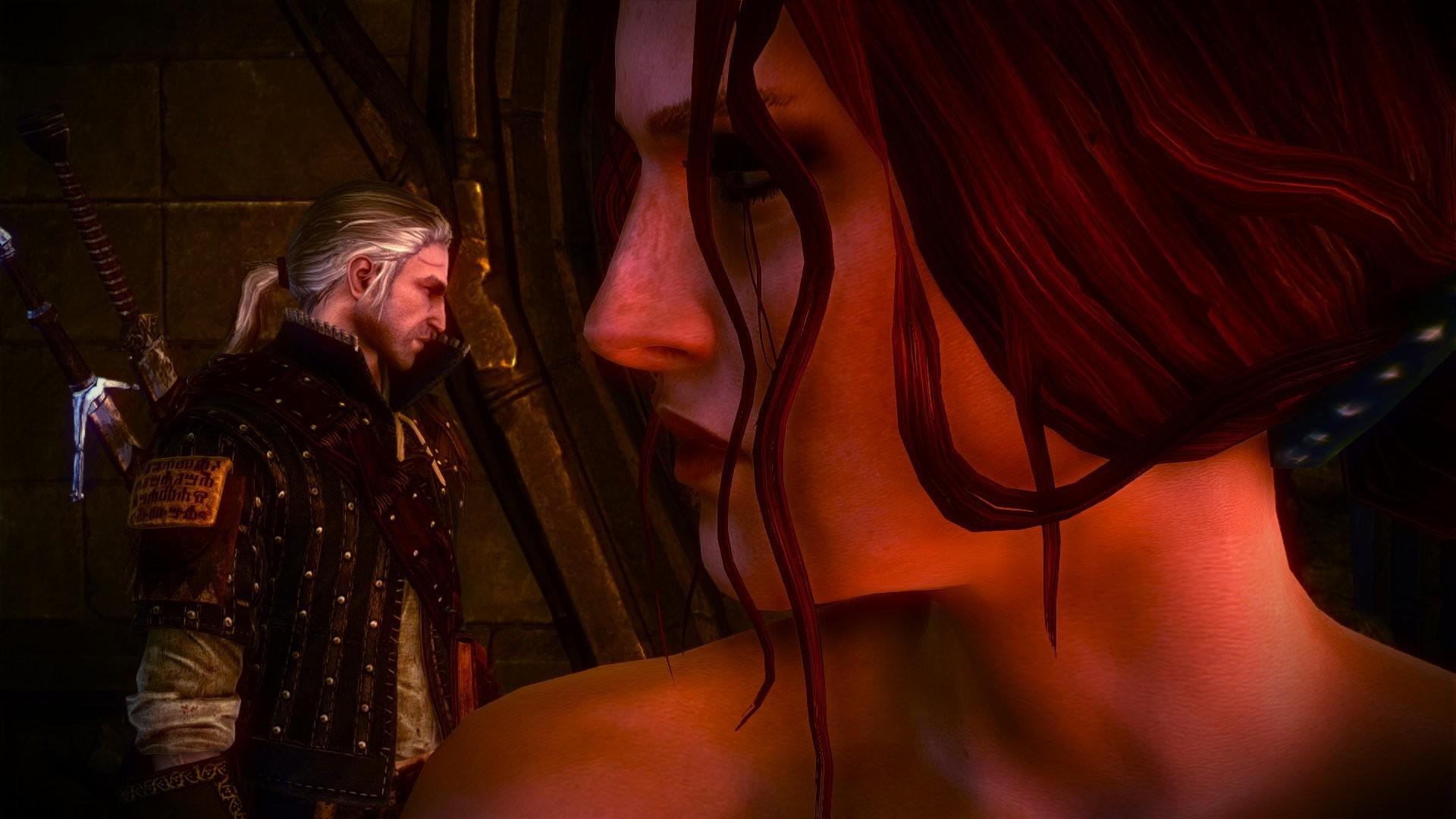 The Witcher 2 Assassins of Kings Geralt Triss Merigold wallpaper      779118   WallpaperUP