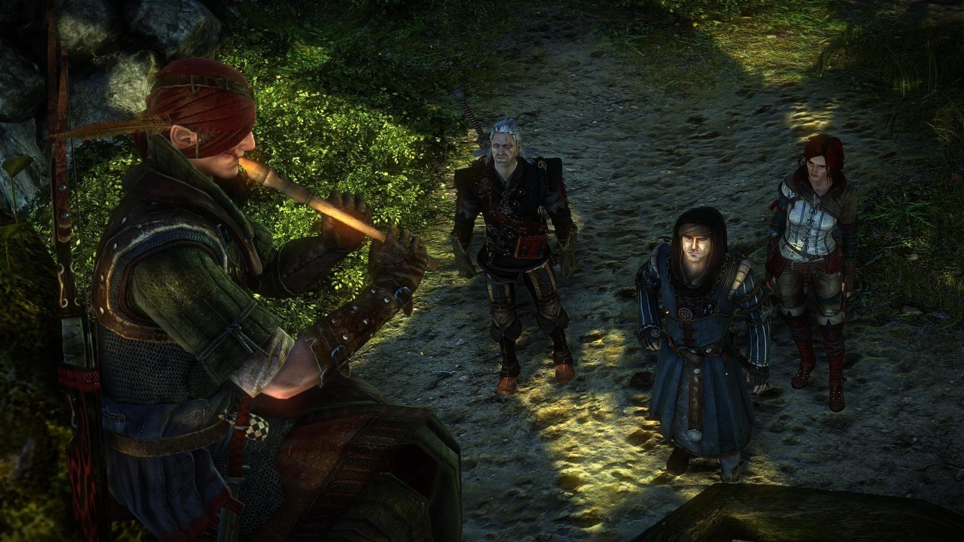 The Witcher 2 Assassins of Kings Iorweth Geralt Triss Merigold Vernon Roche  Flute wallpaper     696607   WallpaperUP