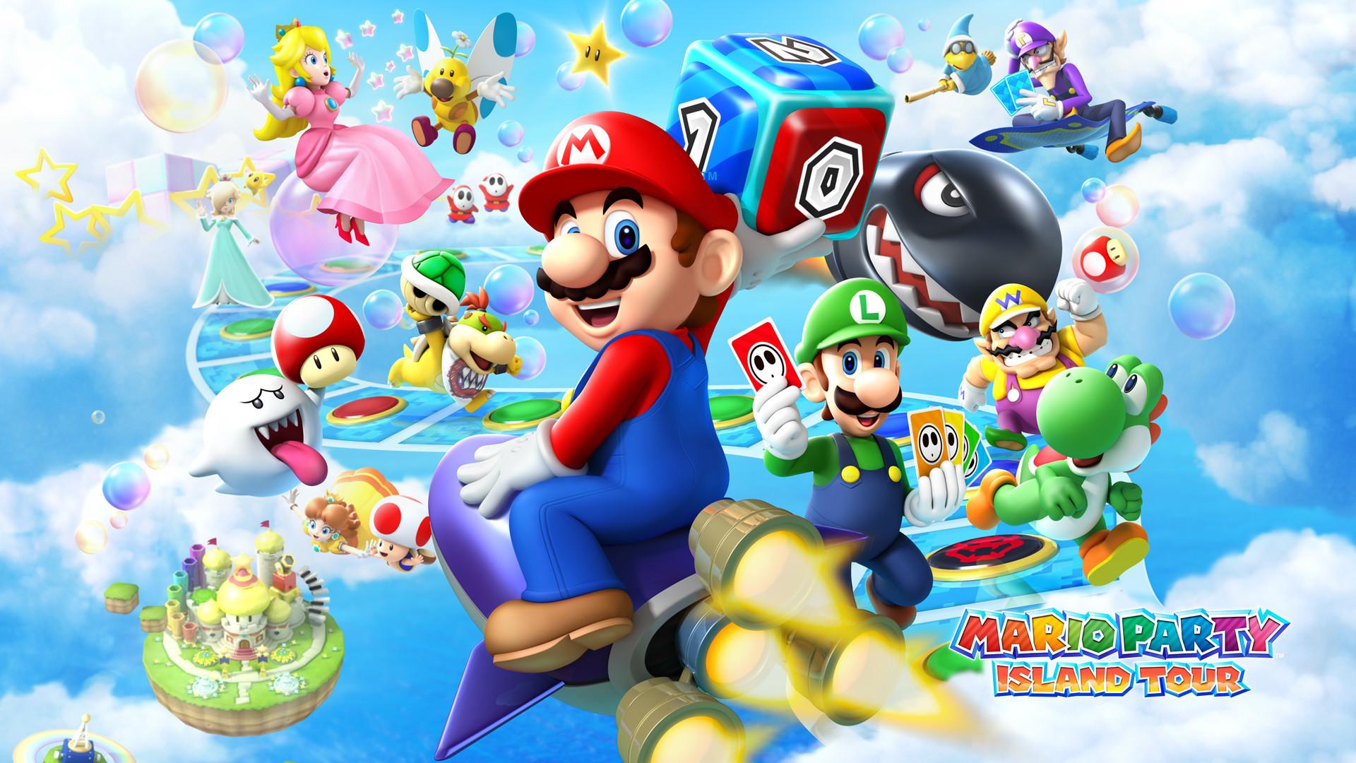 Mario Party Island Tour – Wallpaper – Nintendo Wallpaper (36641091 .