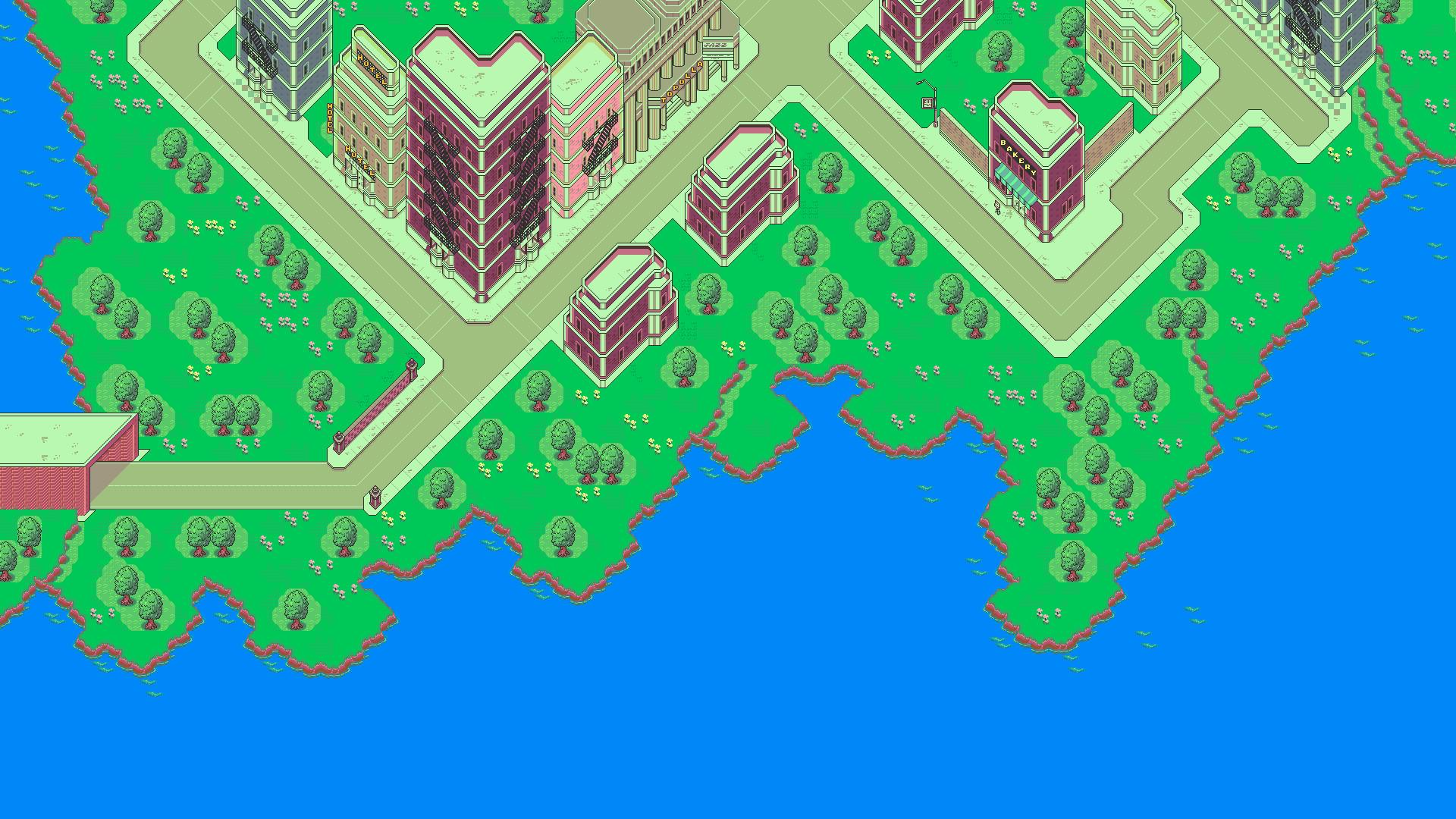 HD Earthbound Video Games Cityscapes Mother Pixelart Super Nintendo  Wallpaper.
