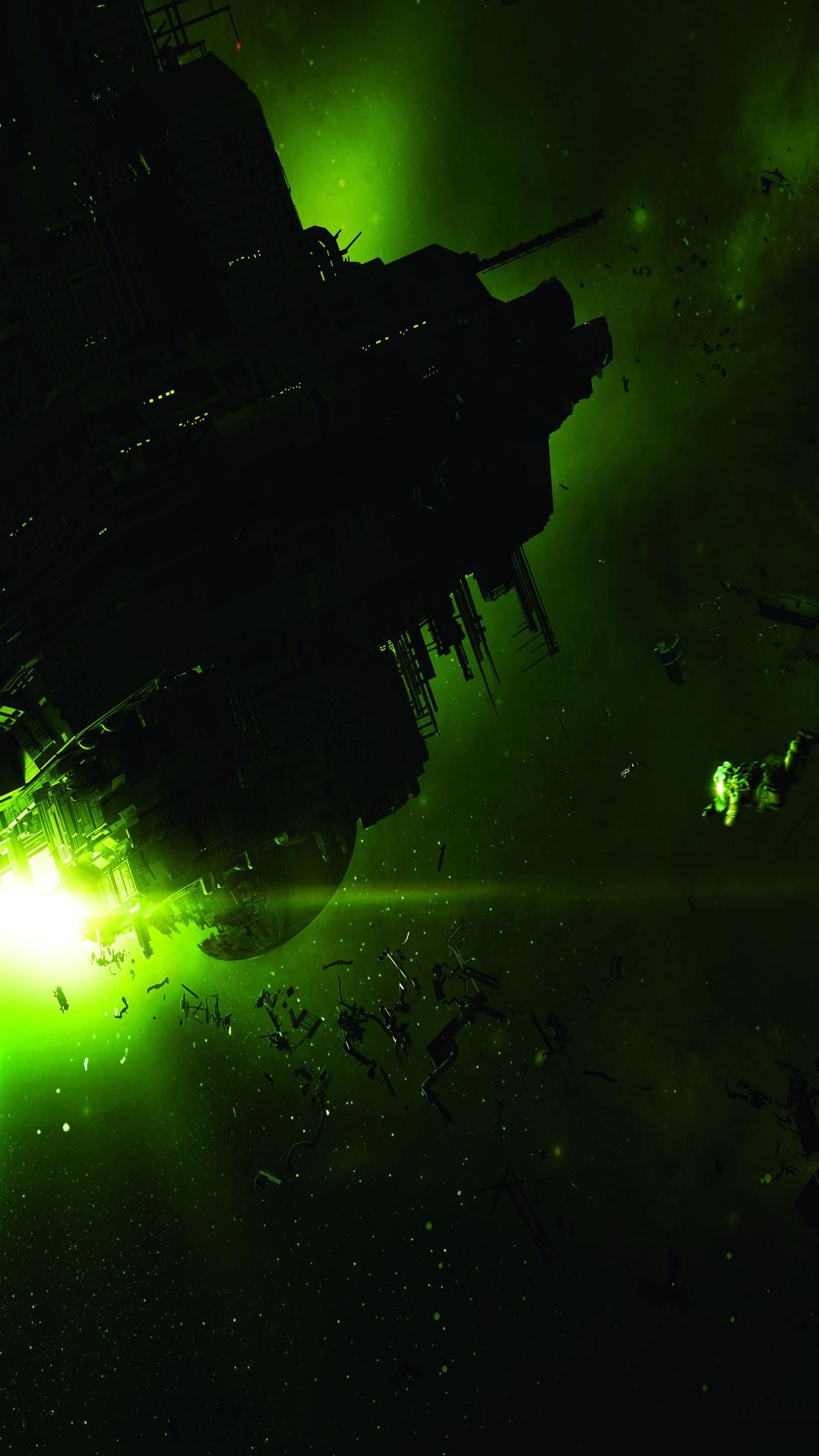Alien: Isolation Wallpaper for Large Screen Smartphones : alienisolation