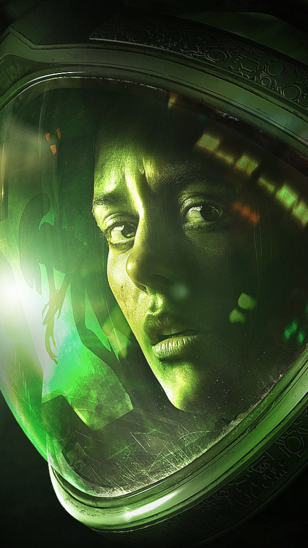 Preview wallpaper alien isolation, game, 2014, ellen ripley, girl 1080×1920