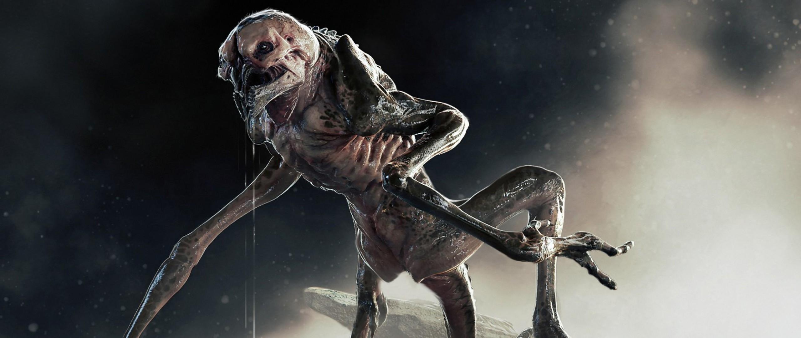 Wallpaper alien isolation, game, monster, horror