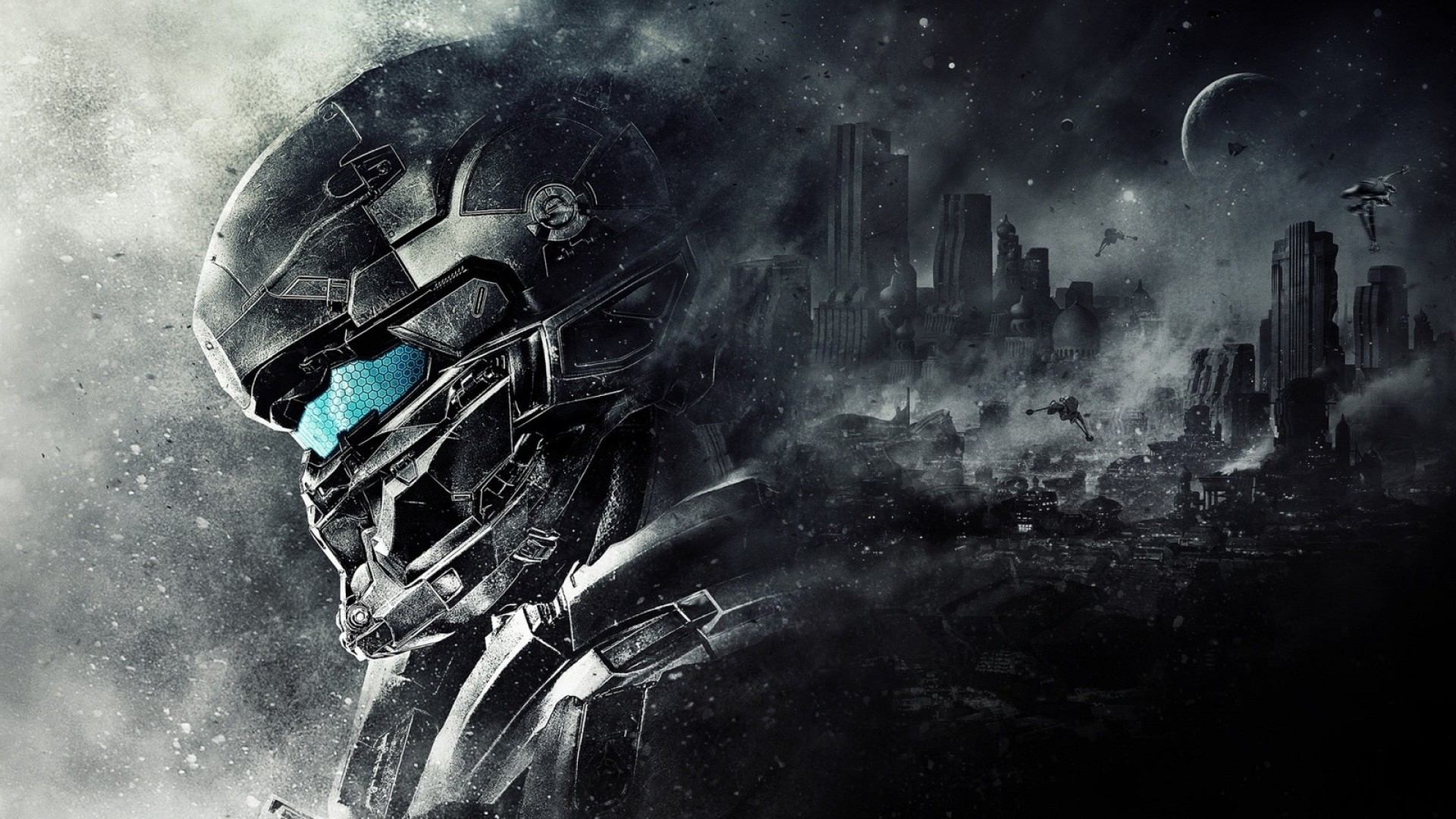 Preview wallpaper halo 5, guardians, 343 industries 1920×1080