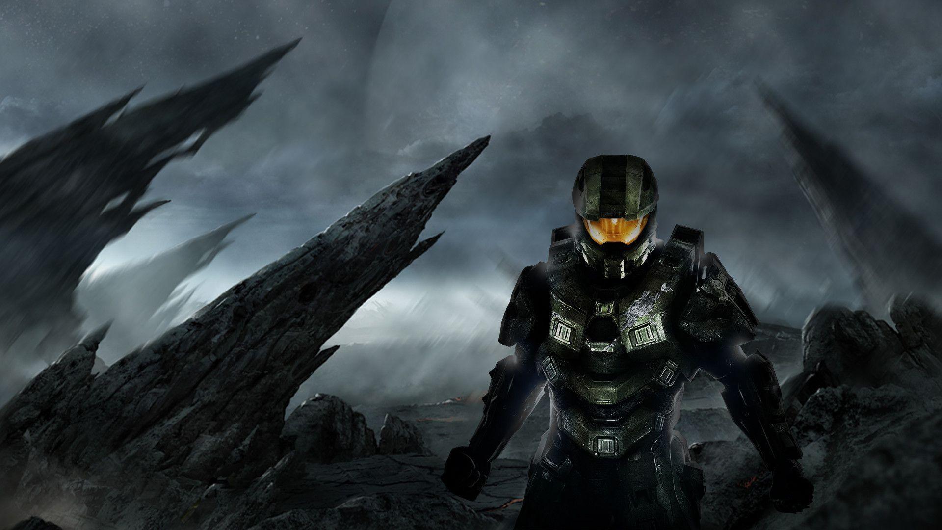 Halo 5 1080p Full HD Wallpaper Free Download # #1414 HD Game .
