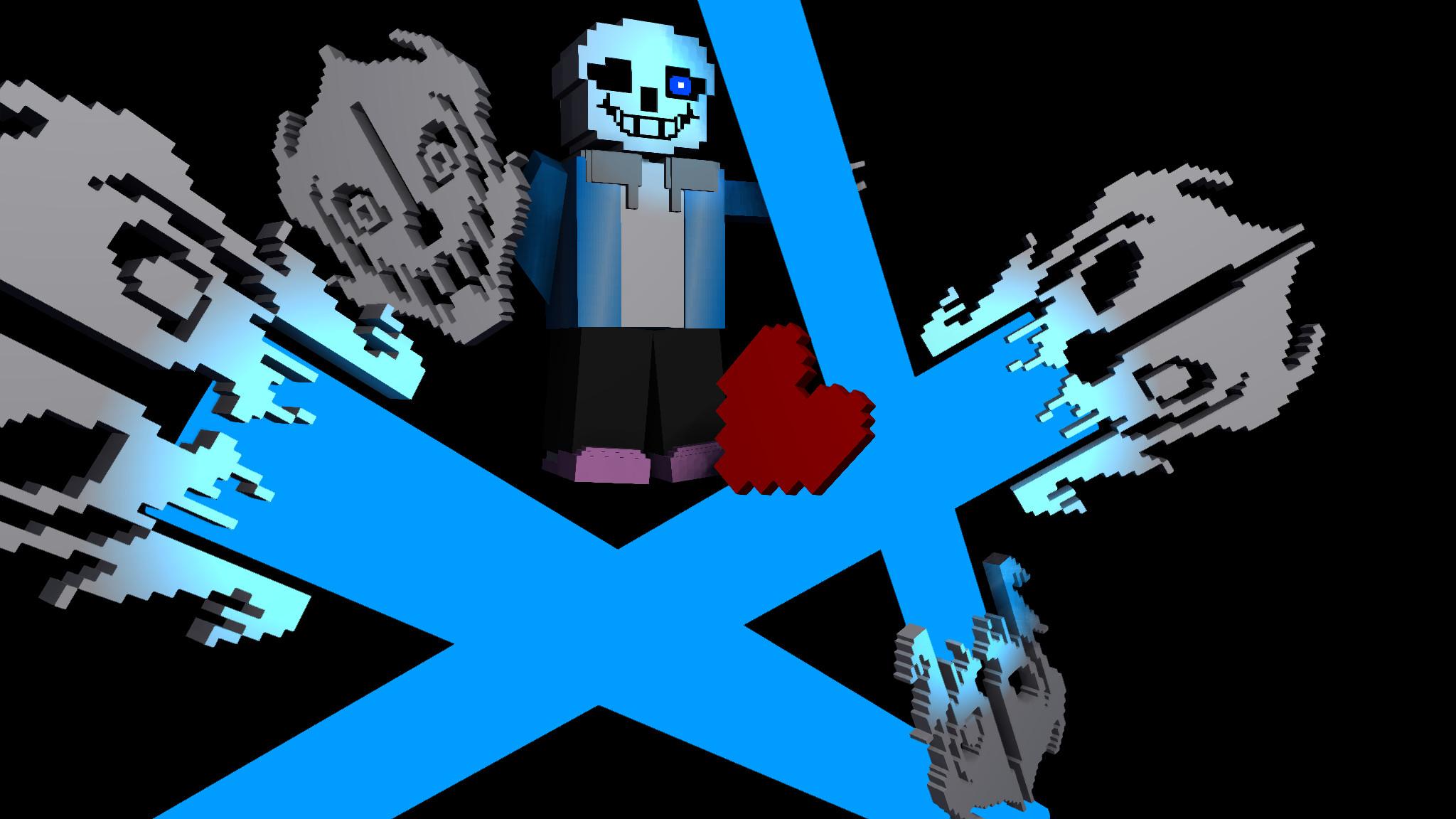 … 3D Undertale Wallpaper] – The True Hell by Creeper2545