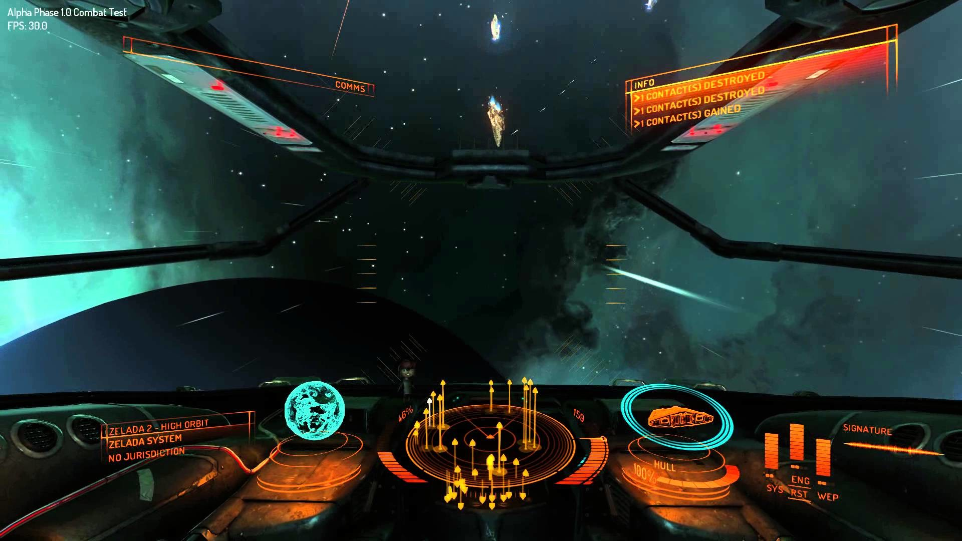 Elite Dangerous Alpha: Midrange pc: Big Battle: max settings –  YouTube