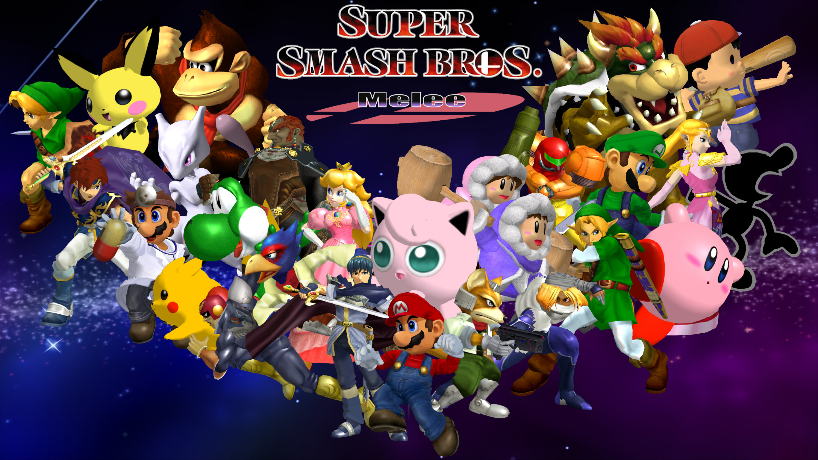 … Super Smash Bros Melee Wallpaper by Game34rules