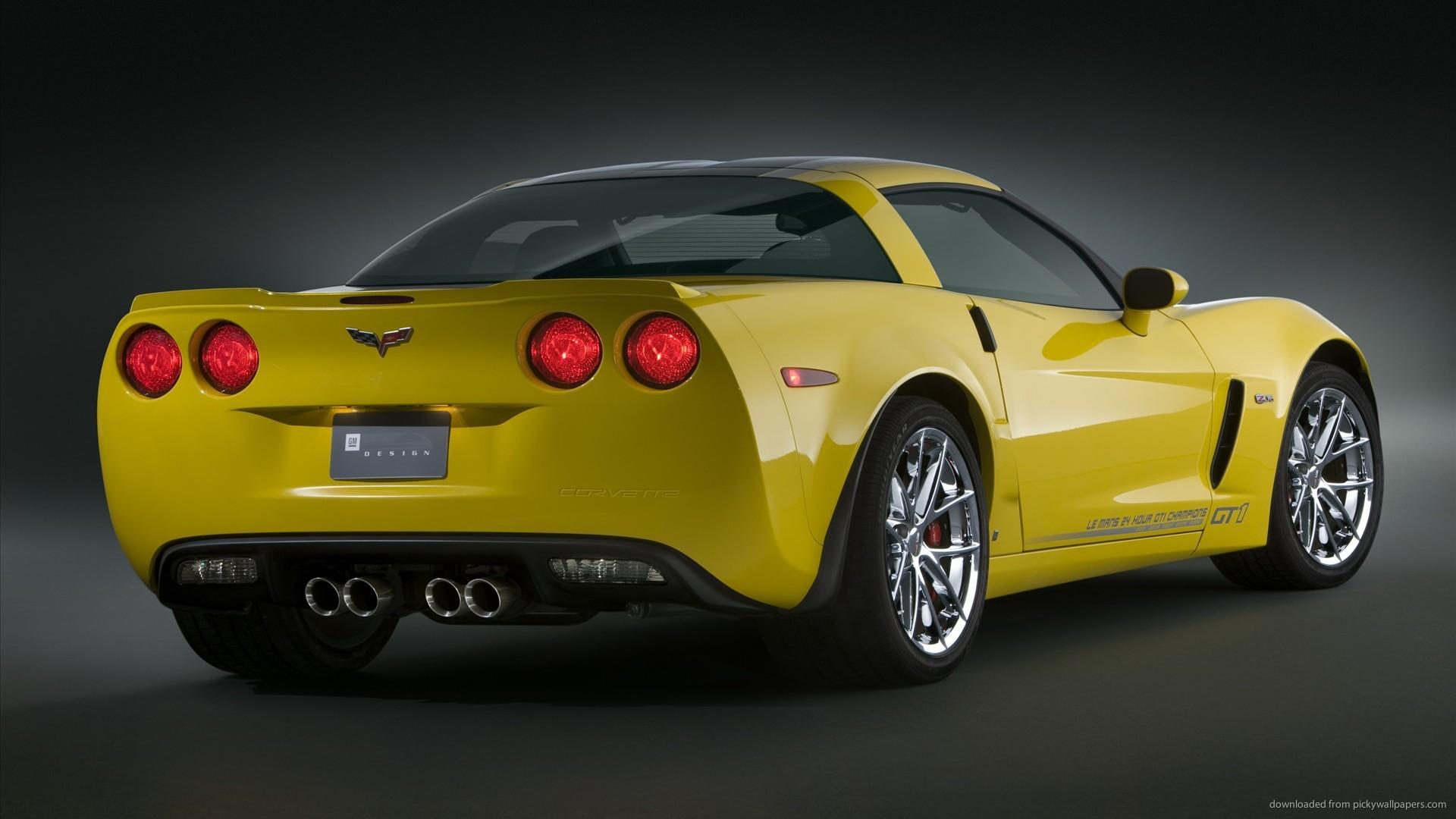 chevrolet yellow corvette wallpapers cars wallpaper 1920×1080