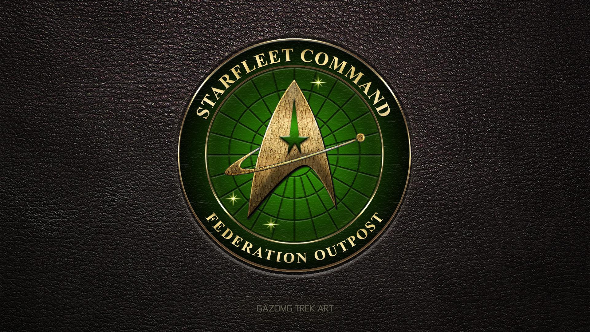 … Starfleet Federation Outpost Logo 2370s (updated) by gazomg