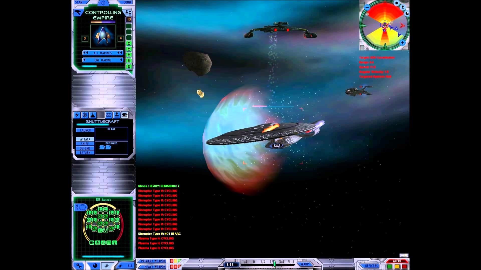 Let's Play Star Trek Starfleet Command 3 – Romulan Mission 16 – Rexpansion  2009 Mod