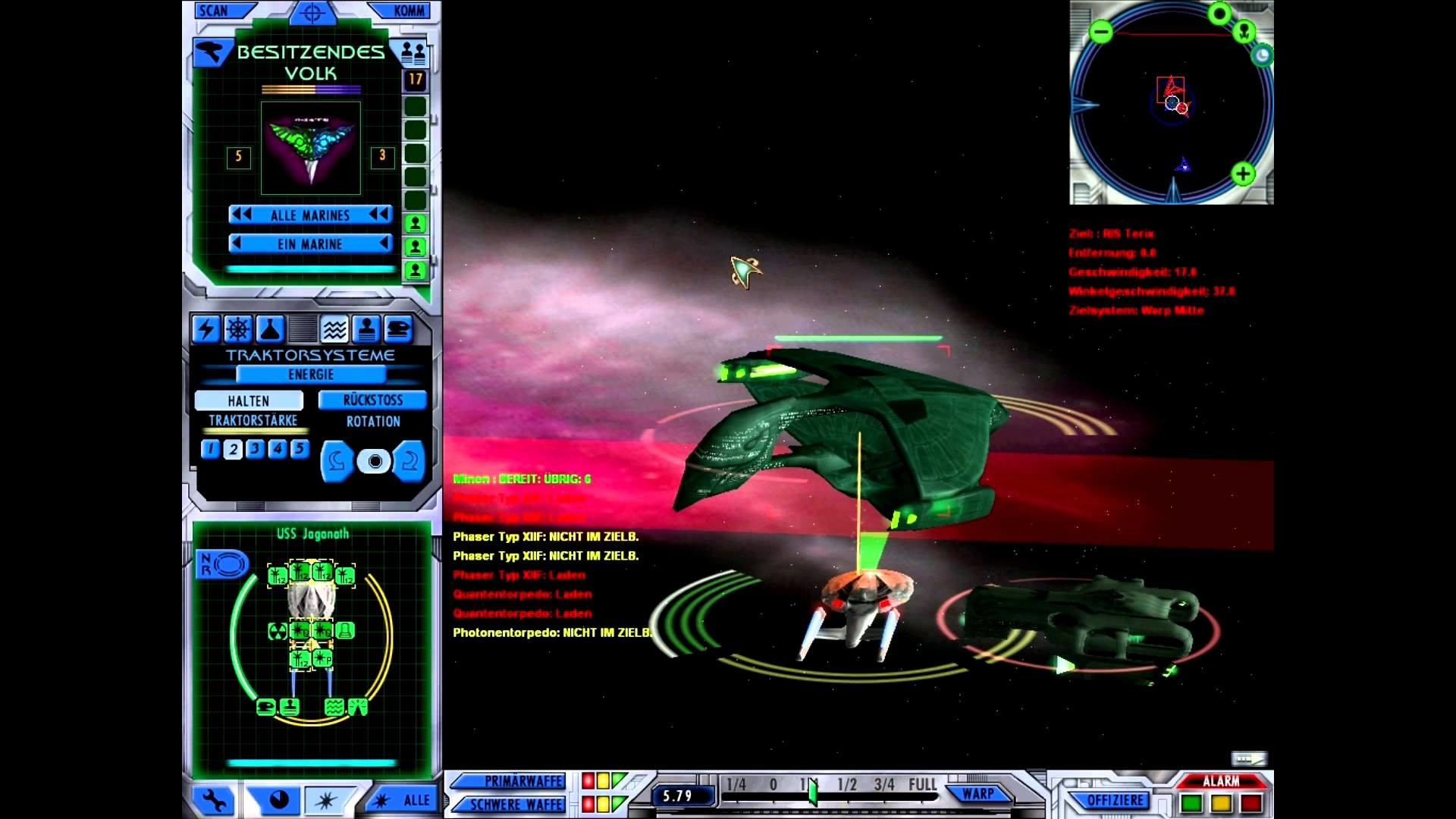 Star Trek: Starfleet Command III Let´s Play Deutsch [FullHD] #56 –  Gegenschlag