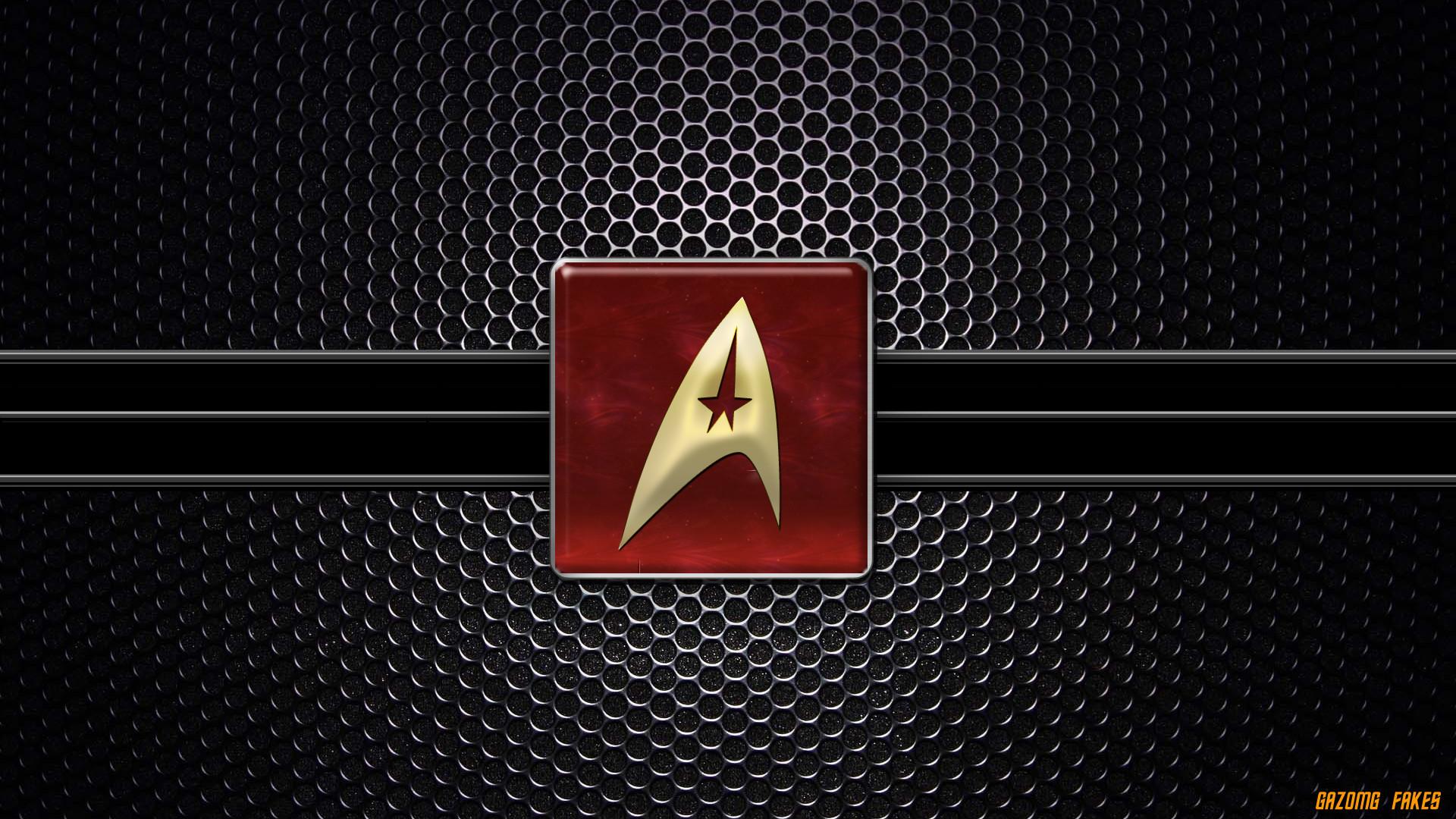 Starfleet logo Wallpaper by gazomg on DeviantArt