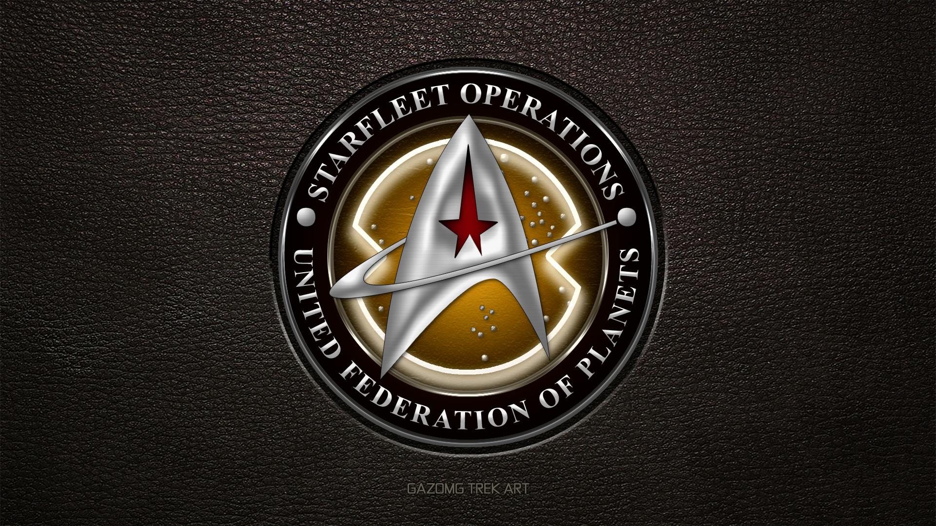 … Star Trek Starfleet Operations 24th Century Logo by gazomg