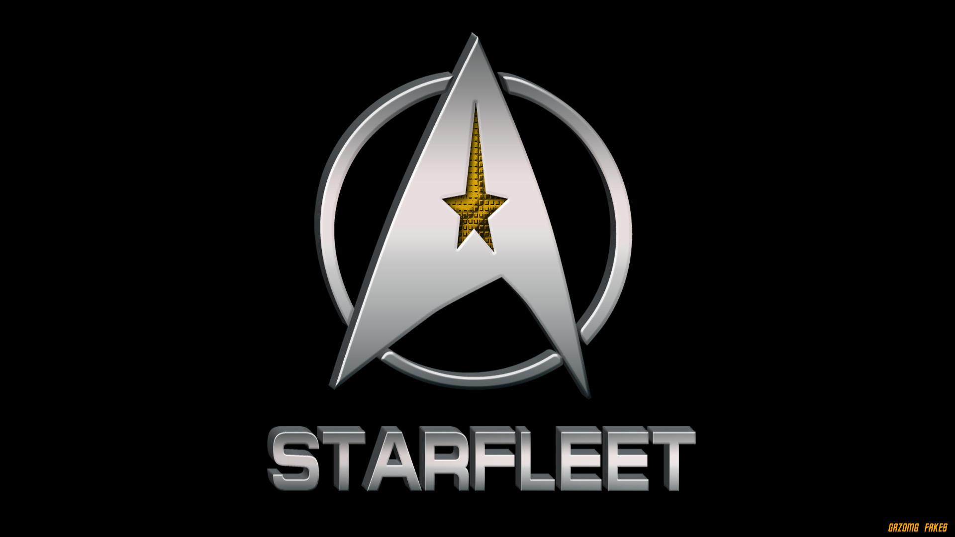… Star Trek Starfleet Logo by gazomg