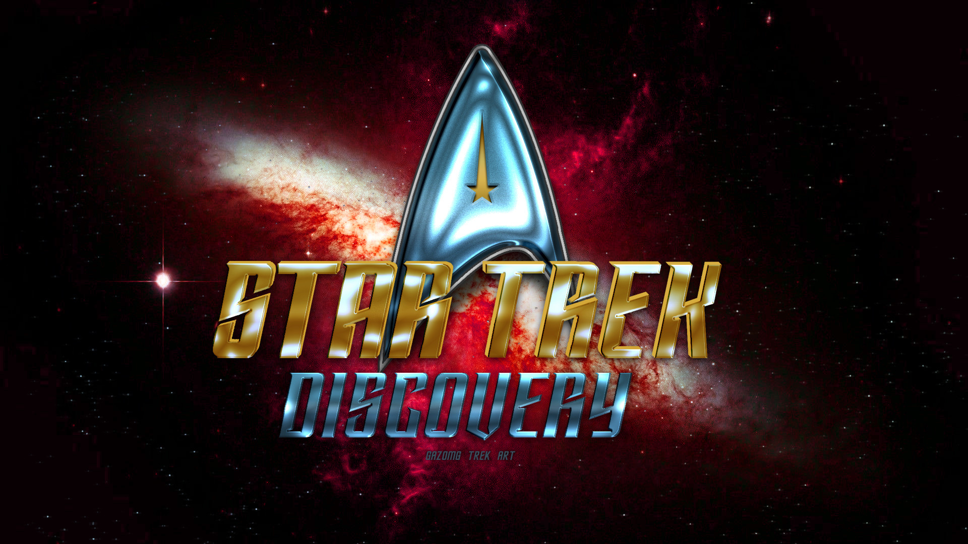 Star Trek Discovery 2017 Wallpaper (updated) by gazomg on DeviantArt