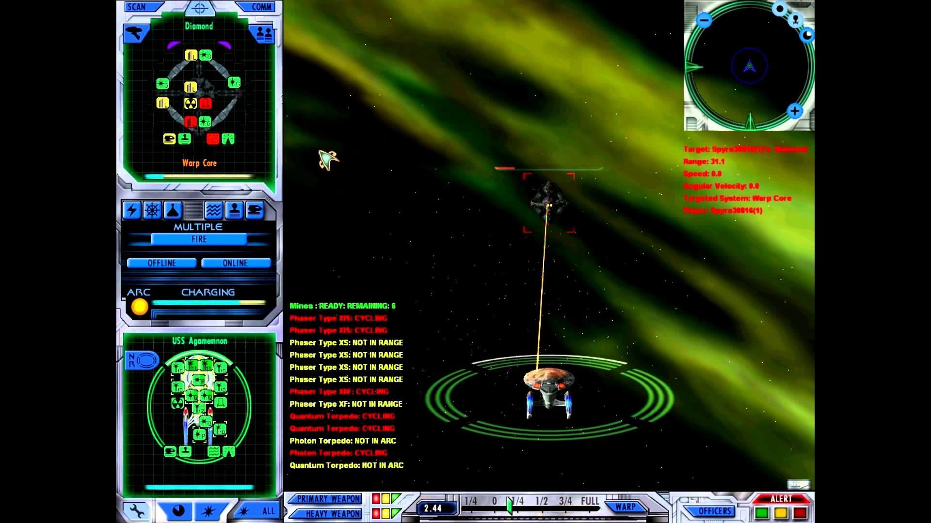 Star Trek: Starfleet Command III Deutsch [FullHD] Special #4 – Endlich ein  Schlachtschiff :)