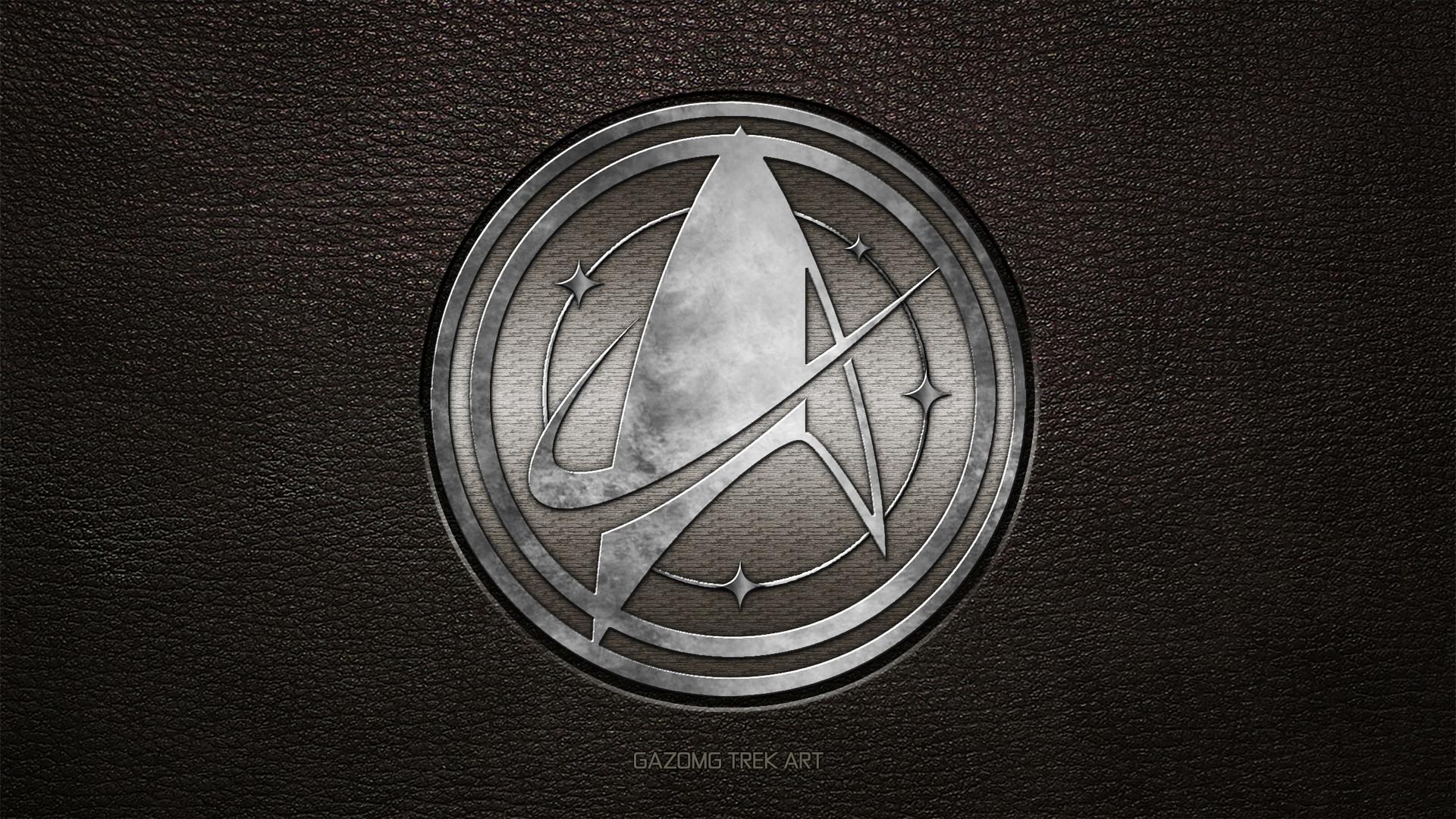 … Star Trek USS Discovery Logo by gazomg