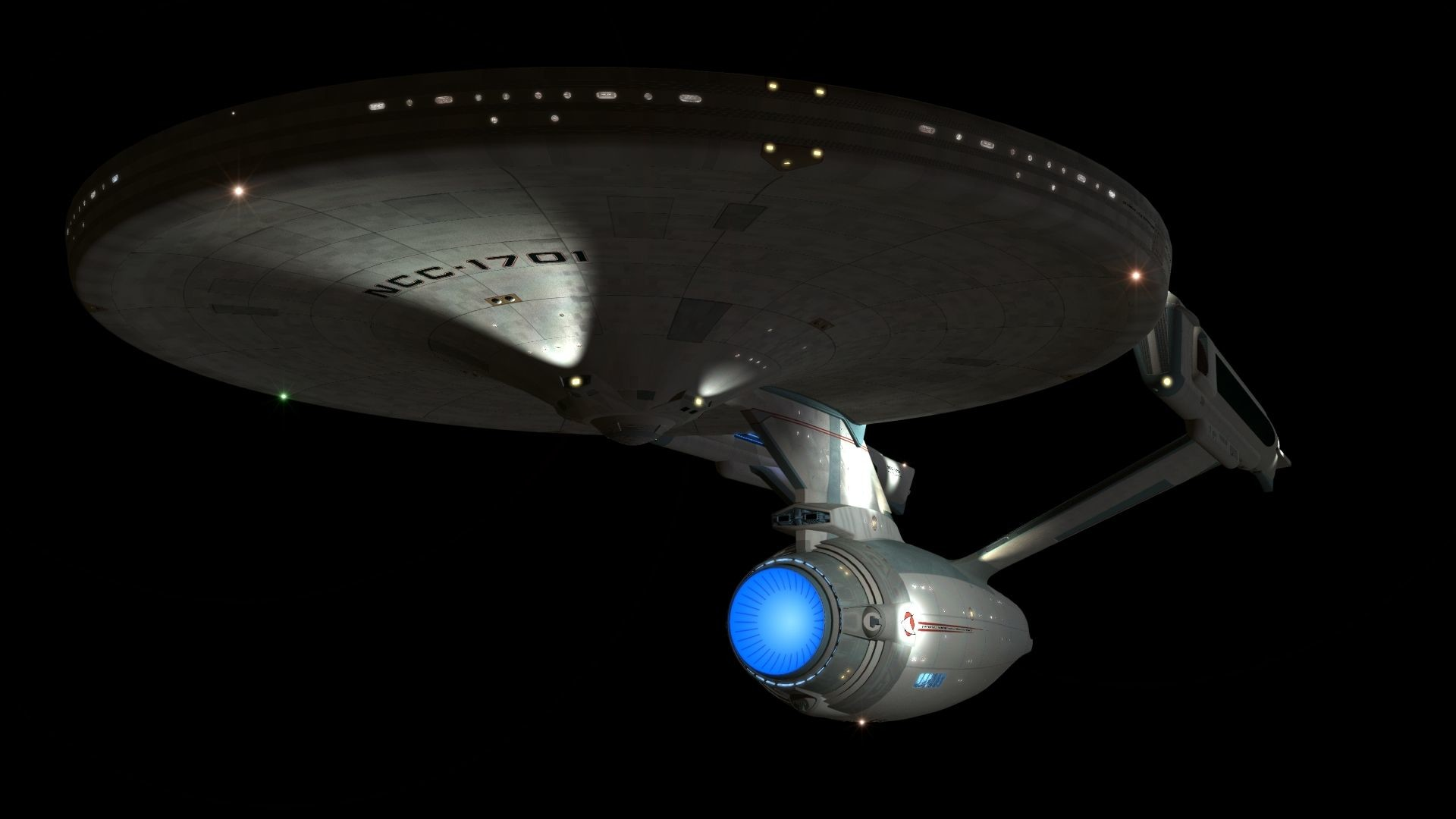 Excalibur class from Star Trek Online. This is the only good looking  original ship design from the game.   Star Trek   Pinterest   Star trek  online, …