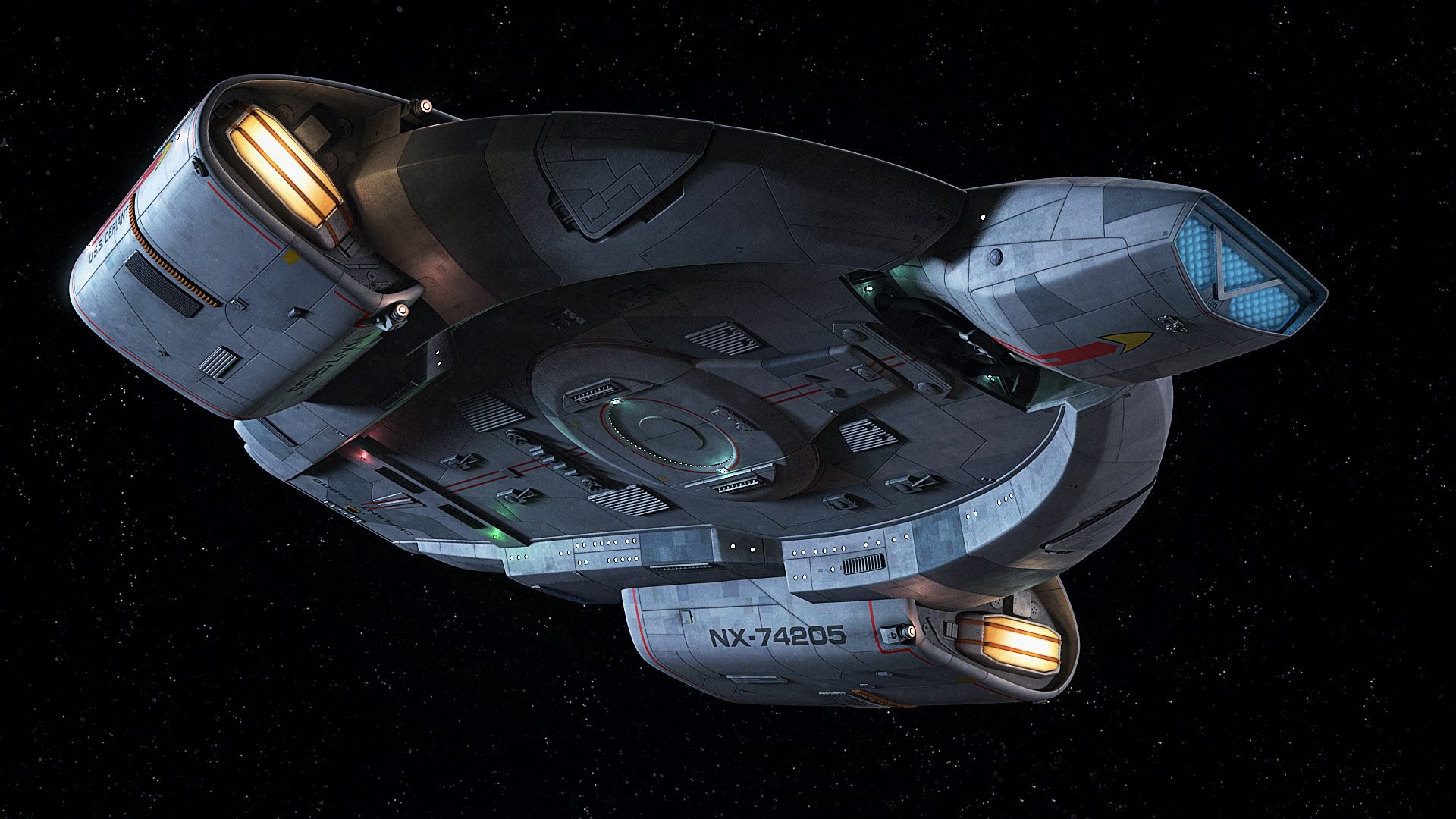 Pin by Guy, Robot on Space Tattoo – USS Defiant   Pinterest   Star trek and  Trek