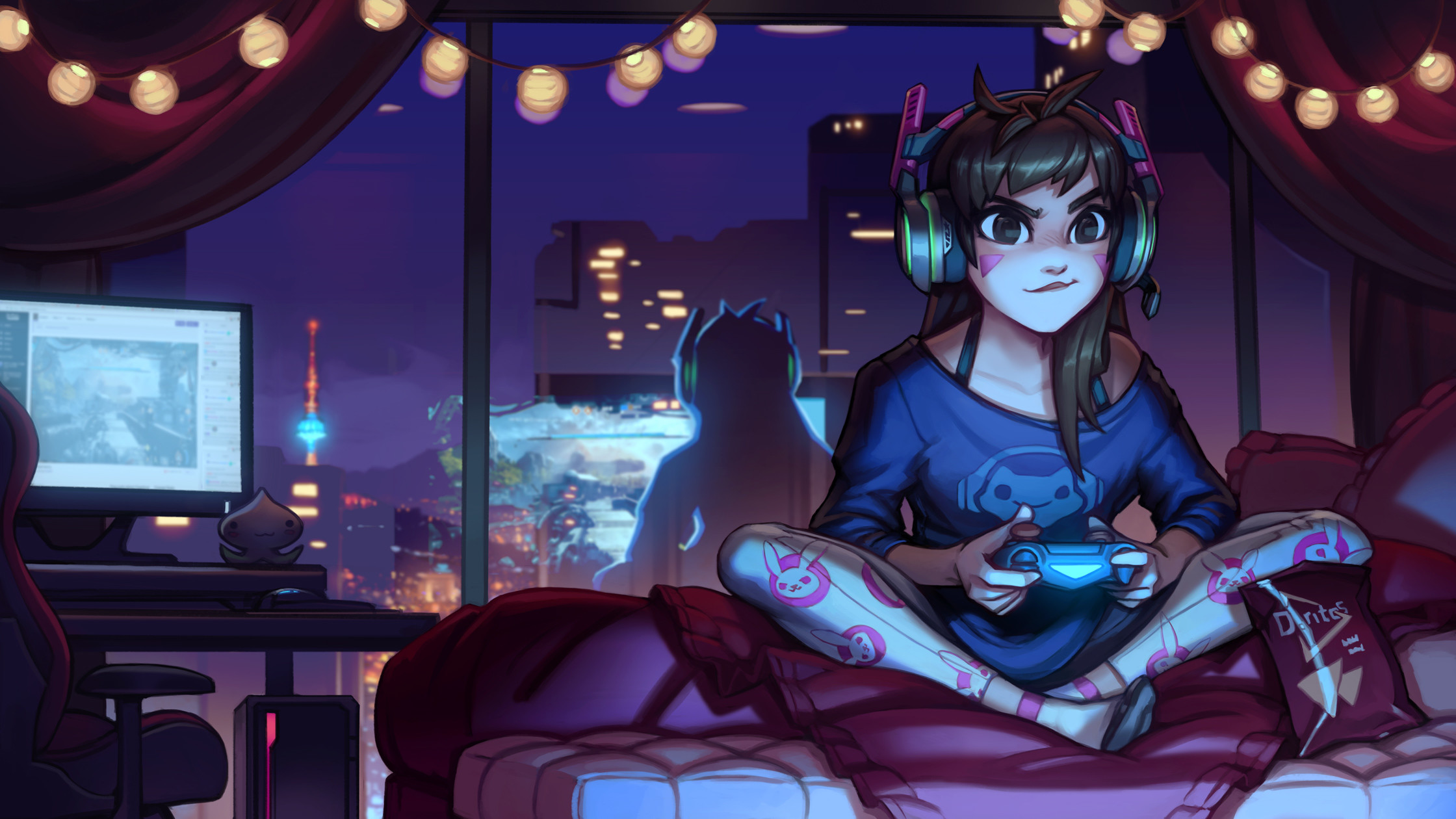 … Casual D.va – Youtube Process! by KNKL