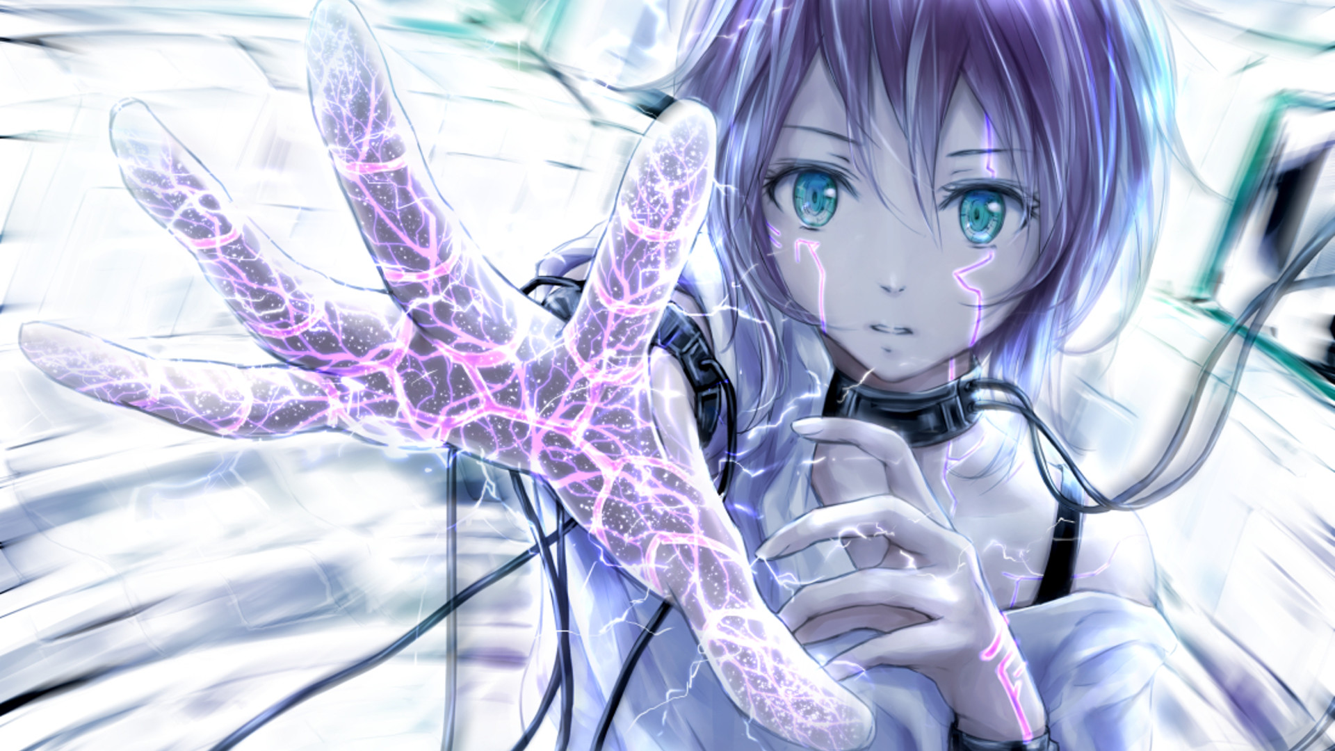 Anime girl – wallpaper