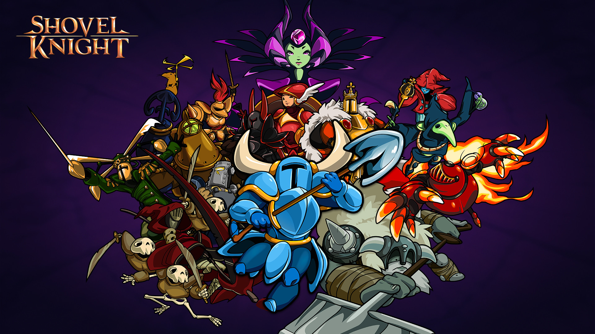 7 HD Shovel Knight Game Wallpapers