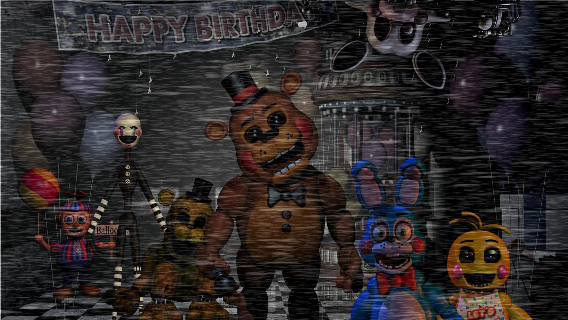 Five Nights at Freddy's 2 Wallpaper