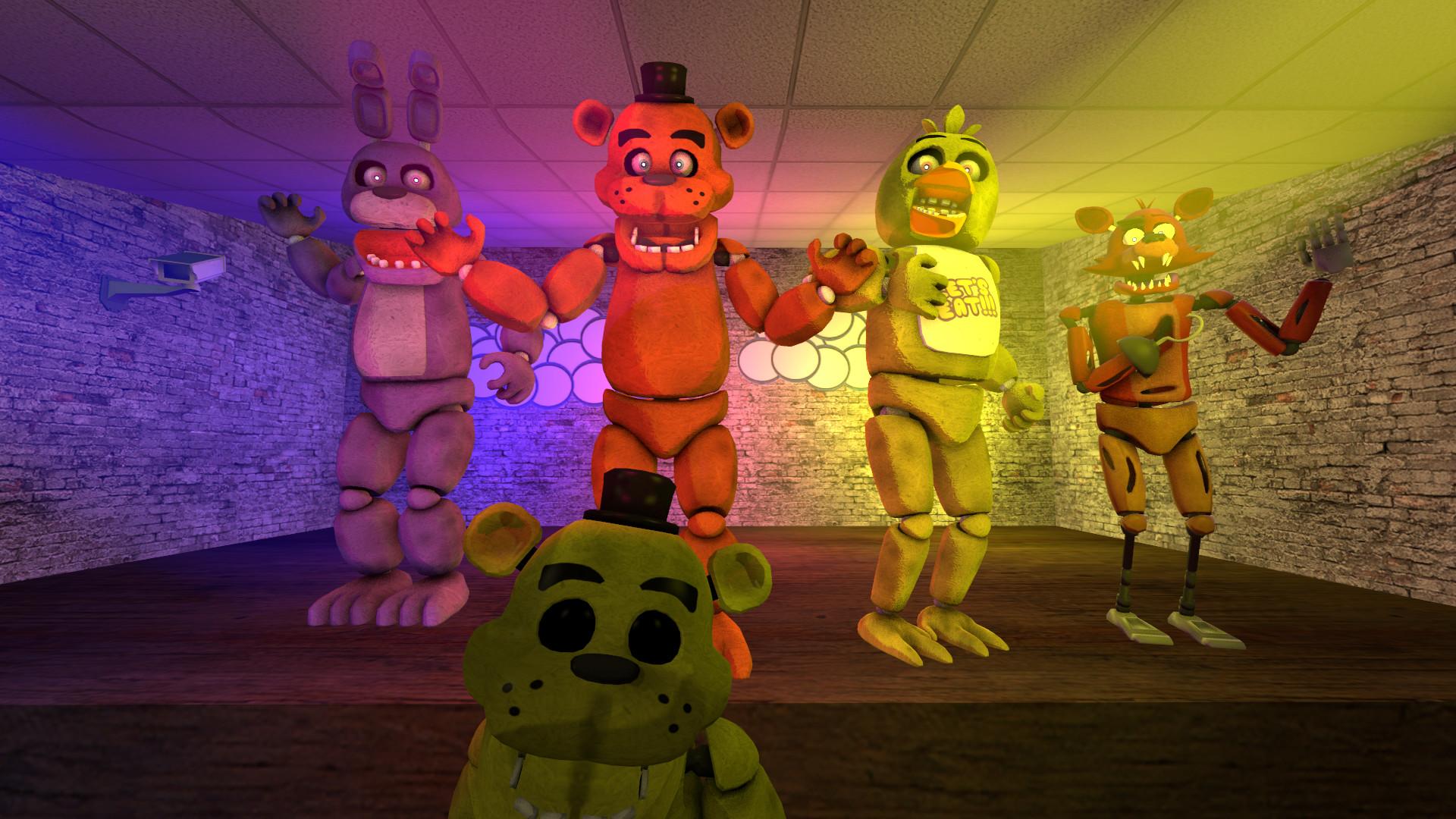 … Five nights at Freddy's by Elsa-Shadow