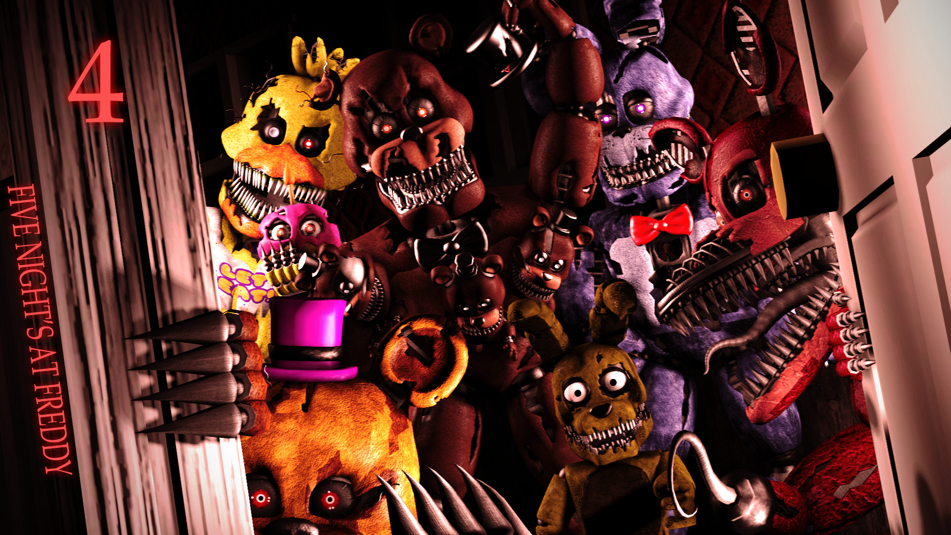 Five Nights at Freddys 4 2015 PC Game Free Download – Free Games Download