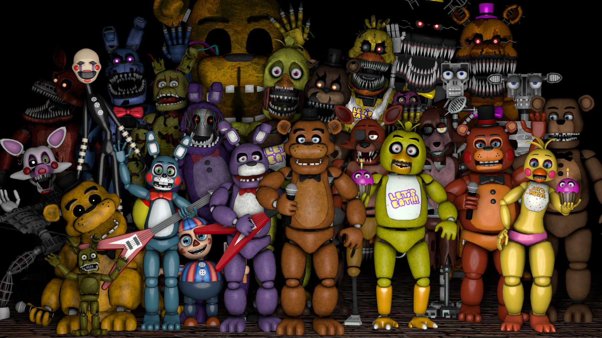 … Five Nights at Freddy's Thank You Poster by RobinOlsen2011