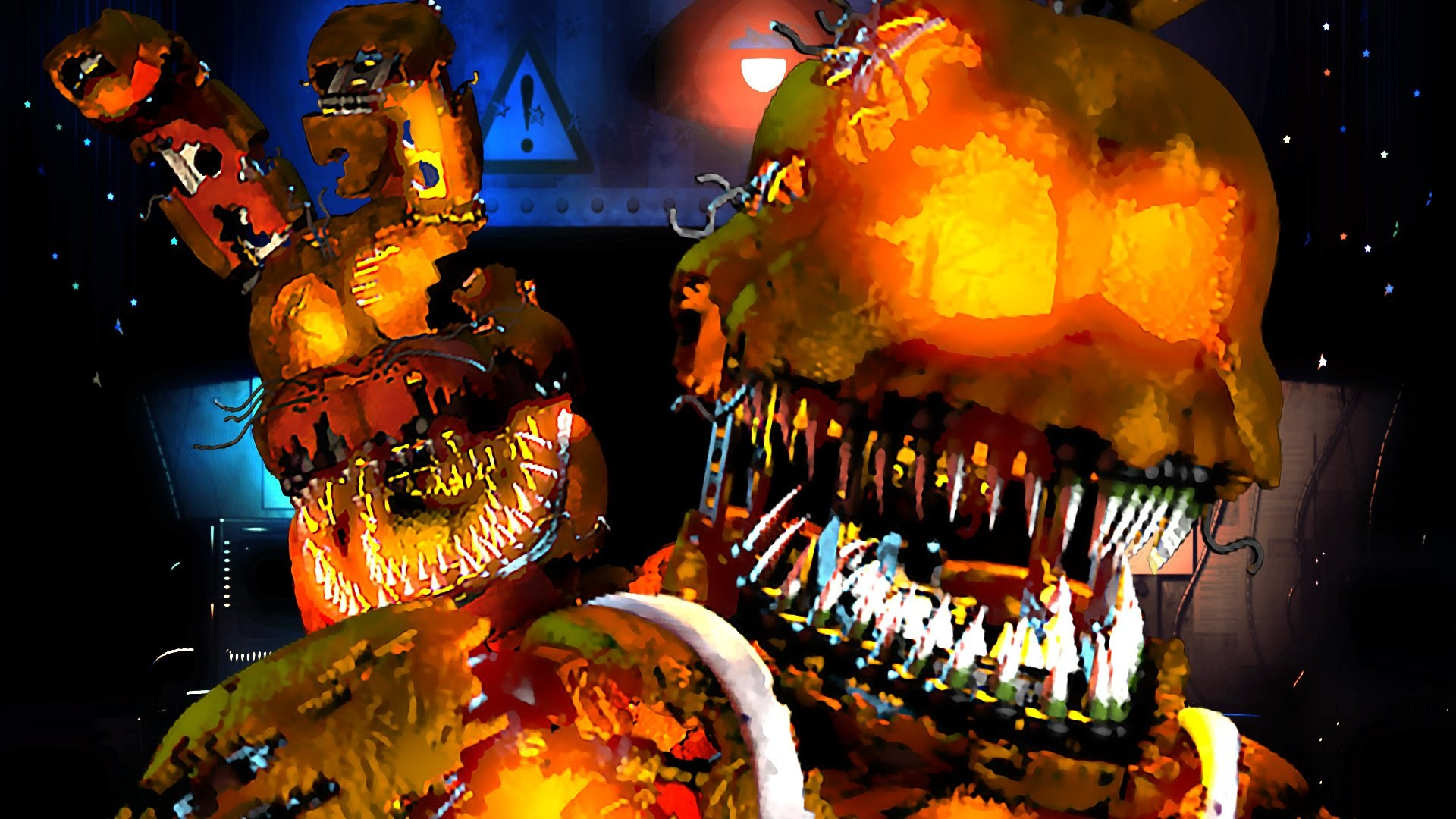 MANGLE CHANGES EVERYTHING | Five Nights at Freddy's Halloween Update – Part  2 – YouTube