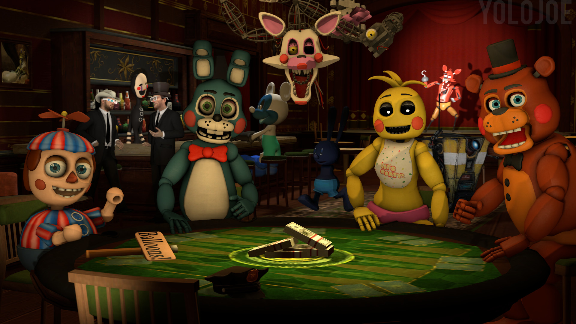 Five Nights at the Inventory