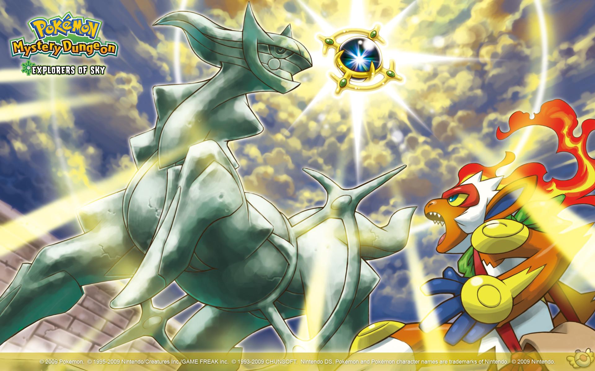 Pokémon Mystery Dungeon: Explorers of Sky Wallpaper 2
