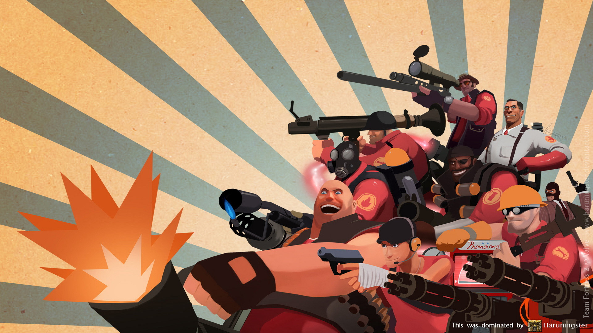 tf2 red Wallpaper, Game HD Wallpapers, Video Games HD 1080p Wallpaper .