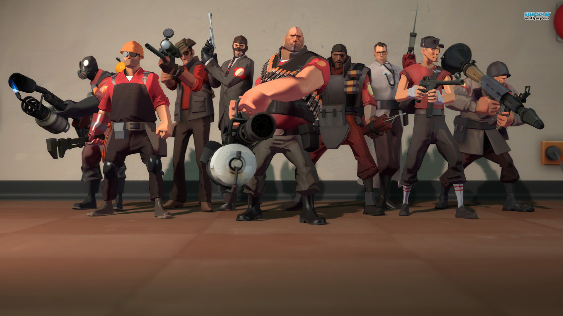 Team Fortress 2 wallpapers (17 Wallpapers)