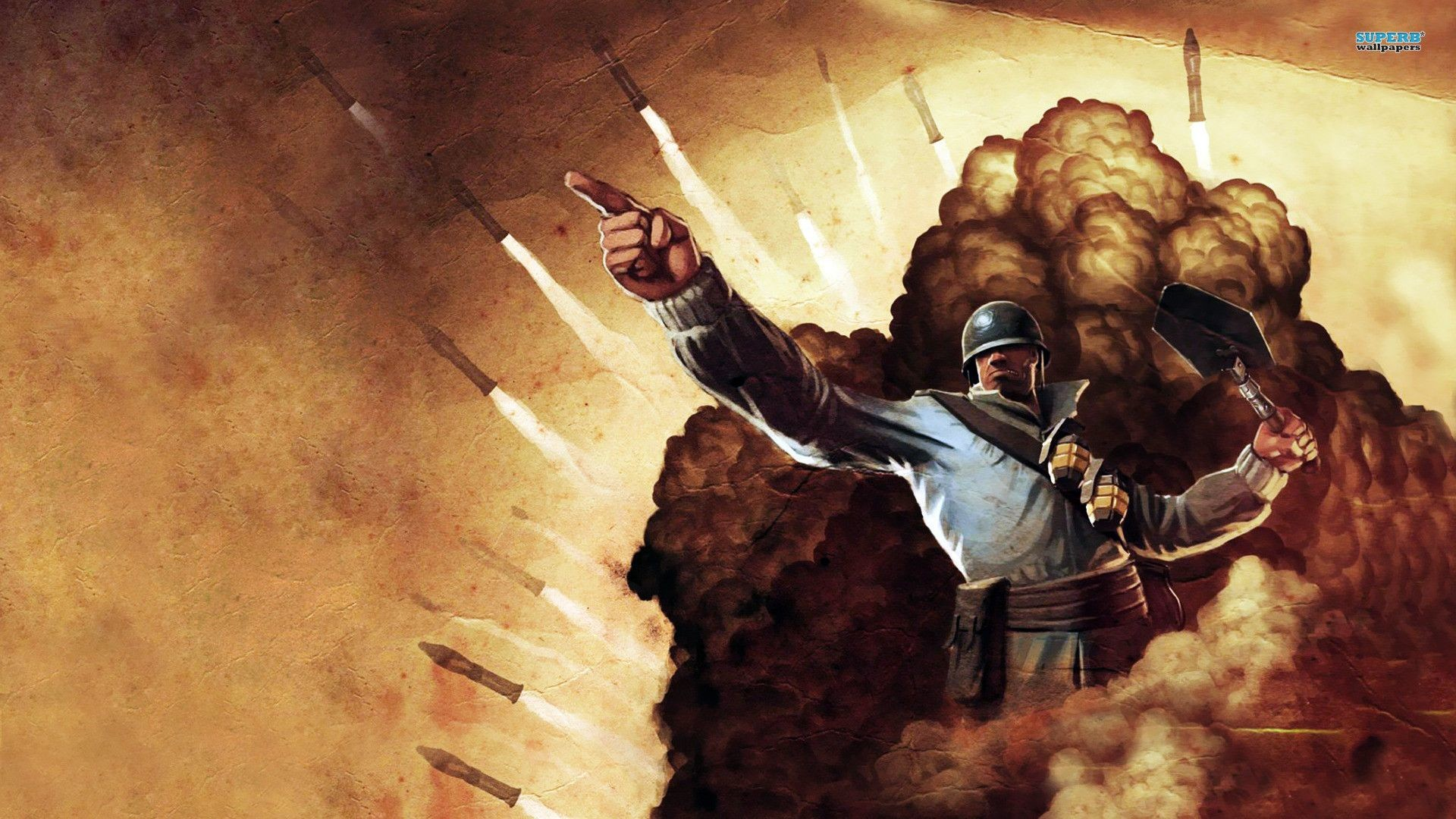 TF2 Soldier wallpaper – Game wallpapers – #