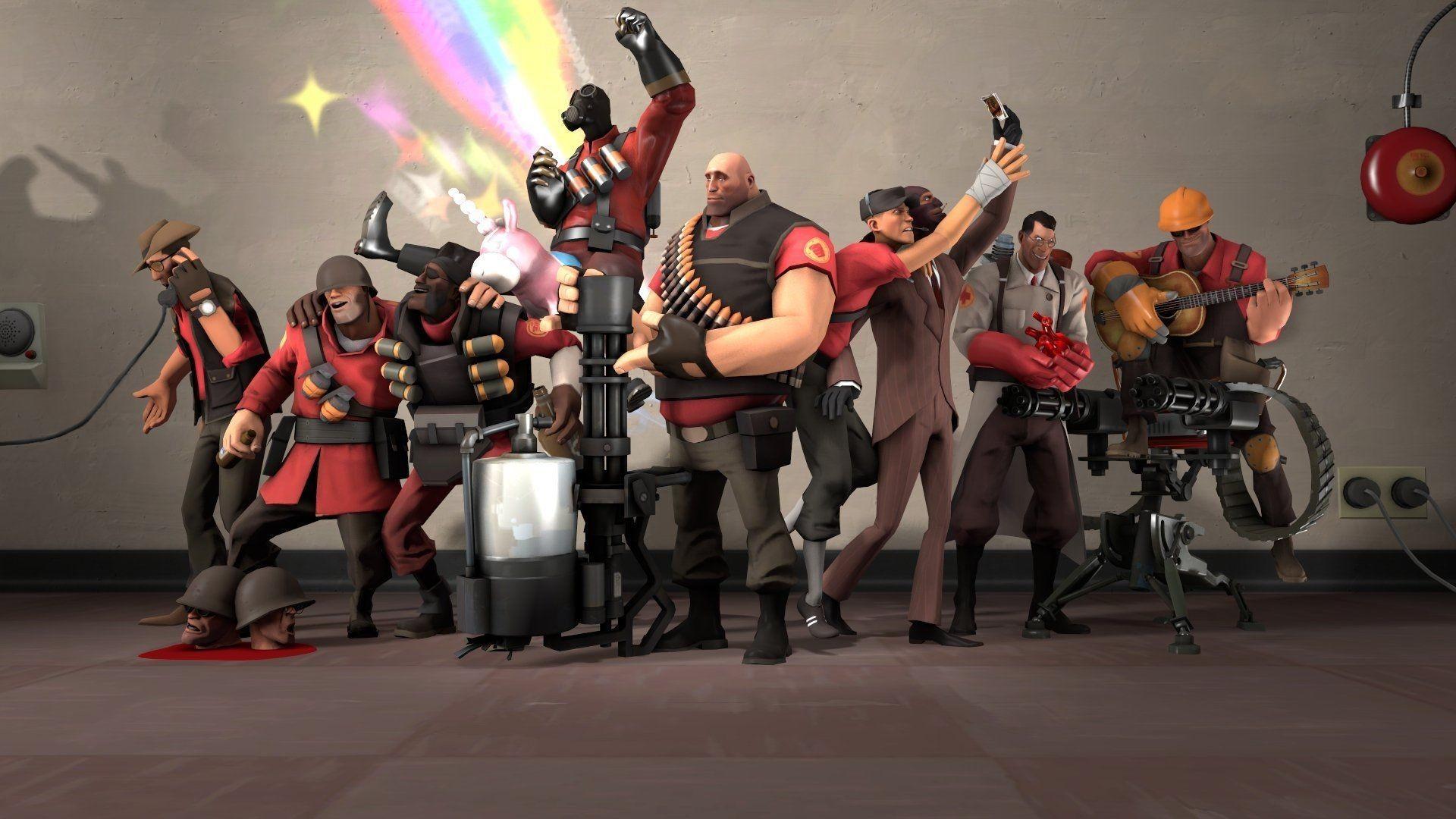 Team Fortress 2 HD Wallpaper