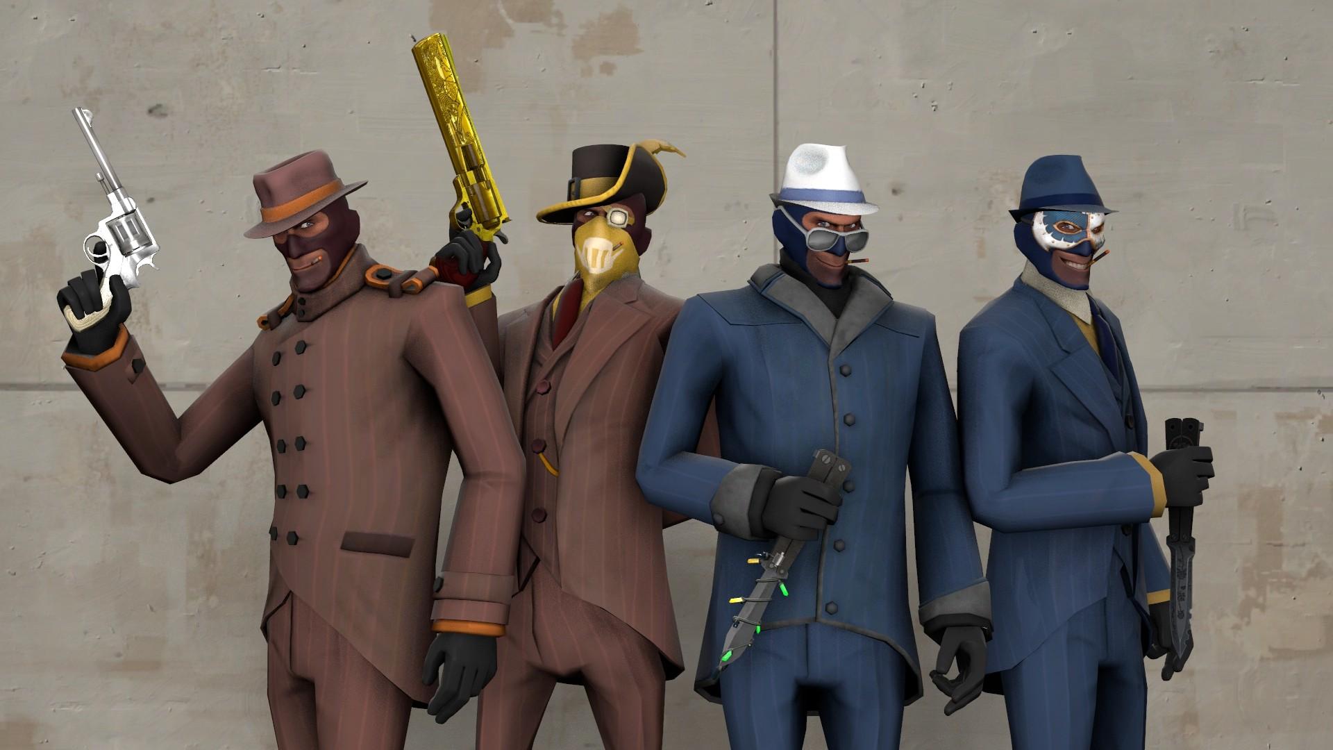Meet the spies tf2 wallpaper hd download.