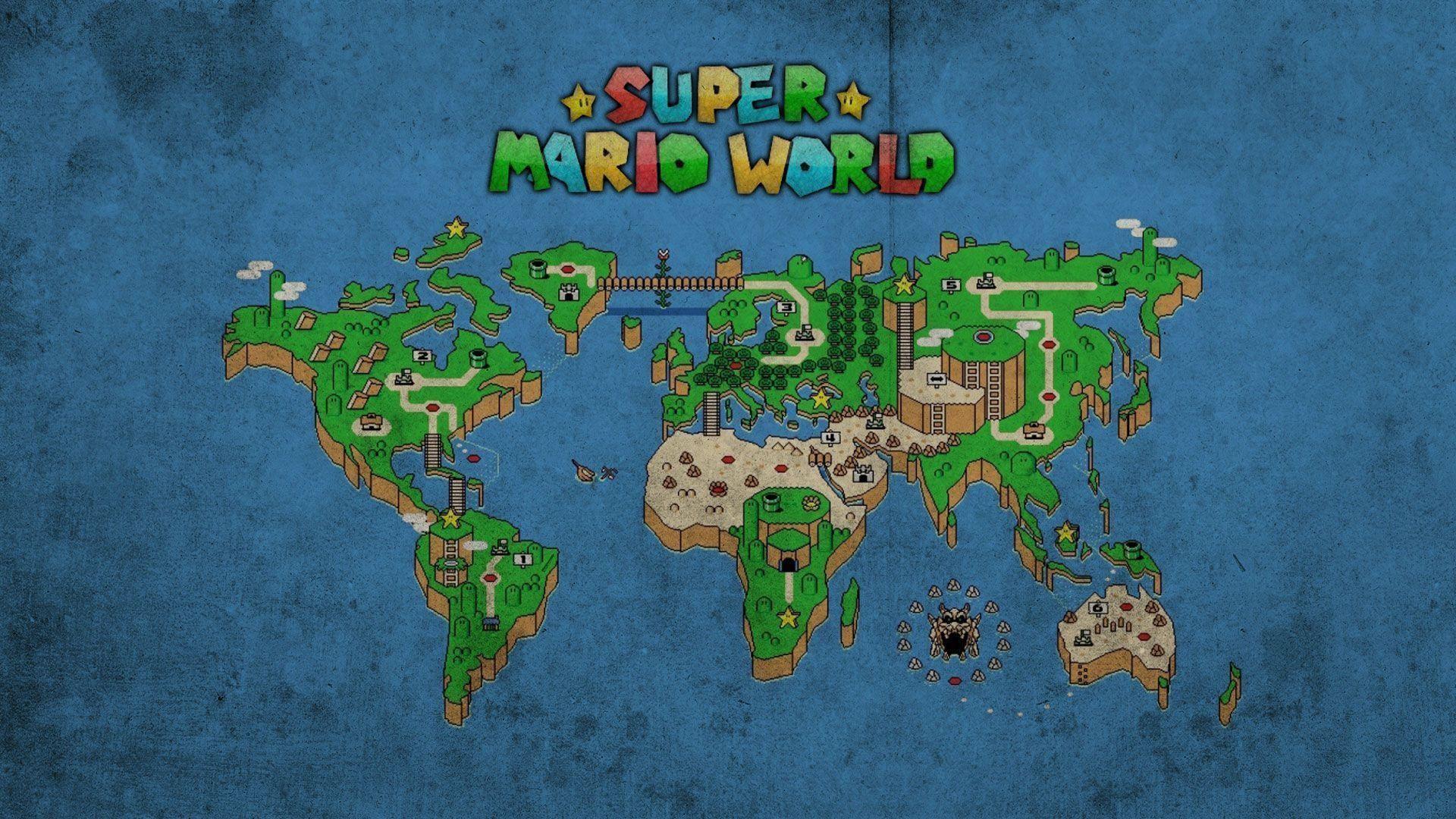 Fonds d'écran Super Mario World : tous les wallpapers Super Mario .