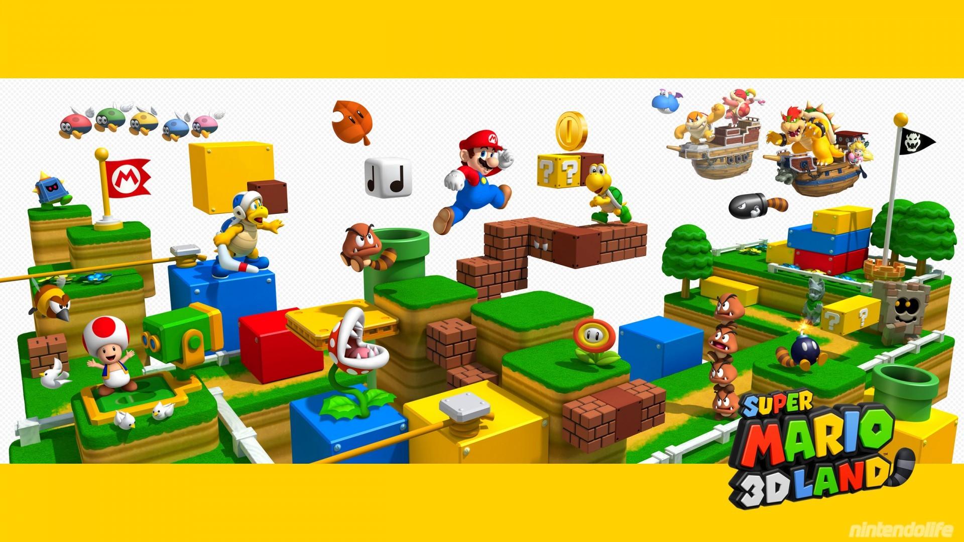 Super Mario 3D Land – Wallpaper 3