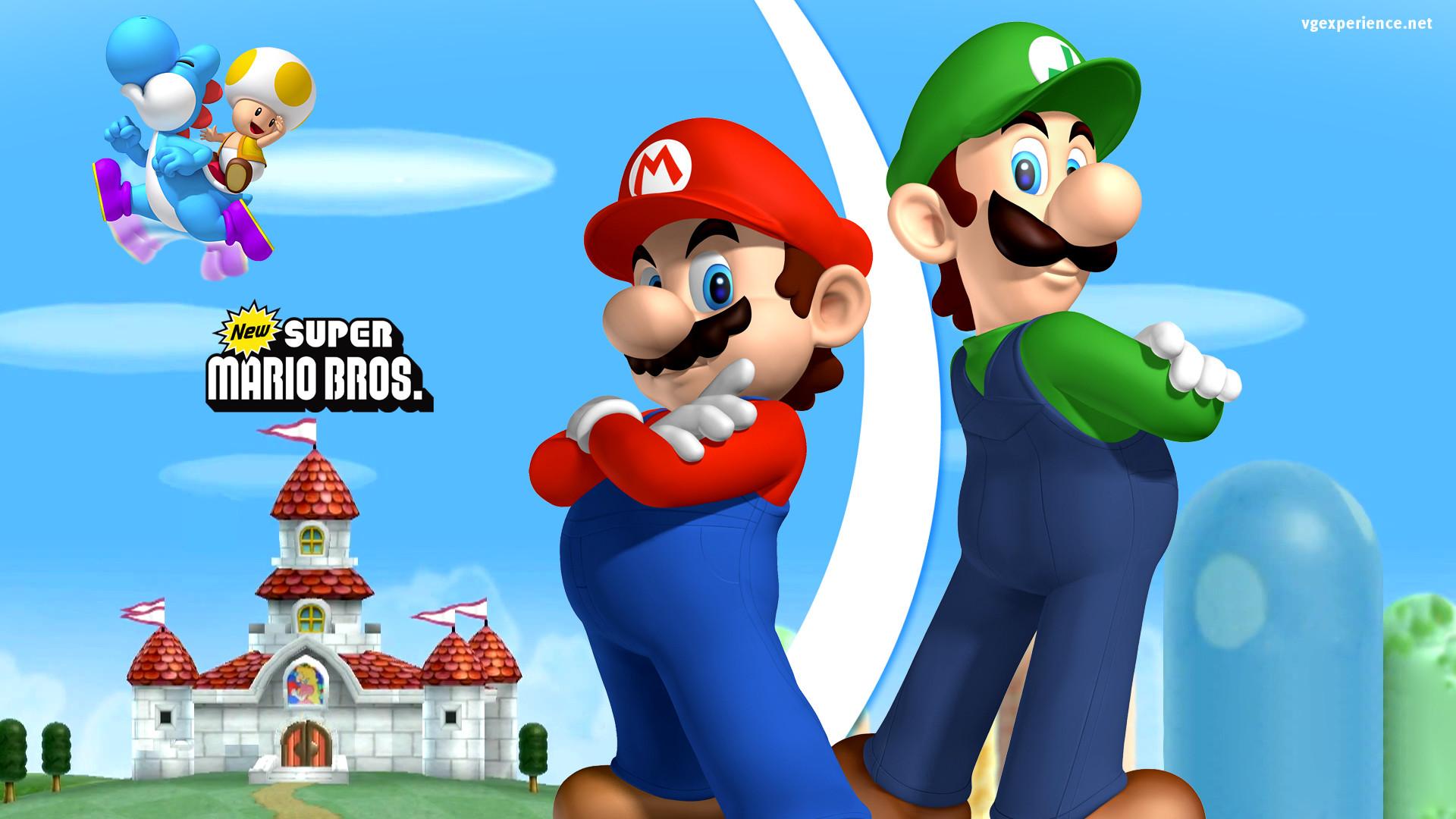 Super Mario World Logo
