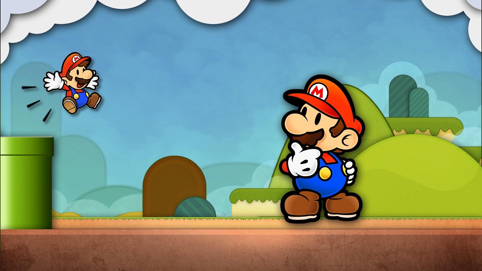 Cartoon Mario HD Wallpaper …