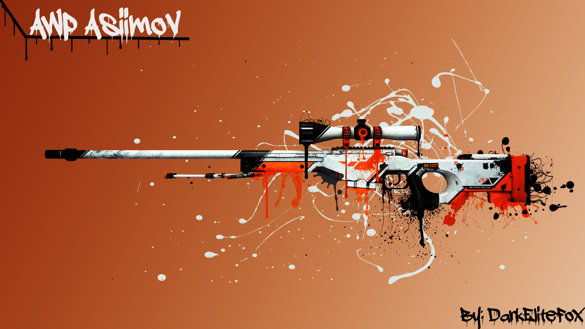 AWP Asiimov Wallpaper picture – ID: 2158